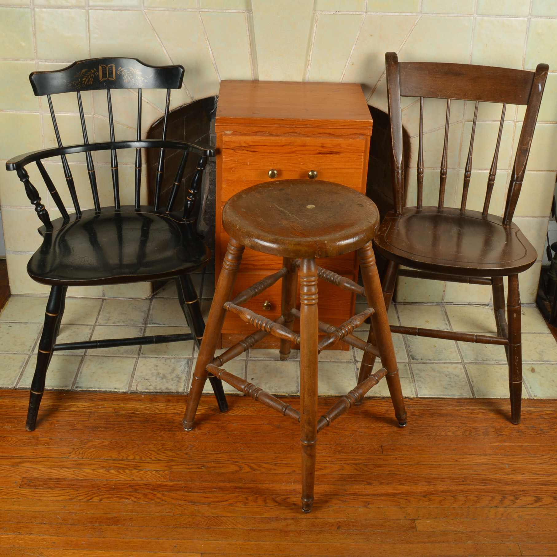 Vintage Chair and Furniture Assortment