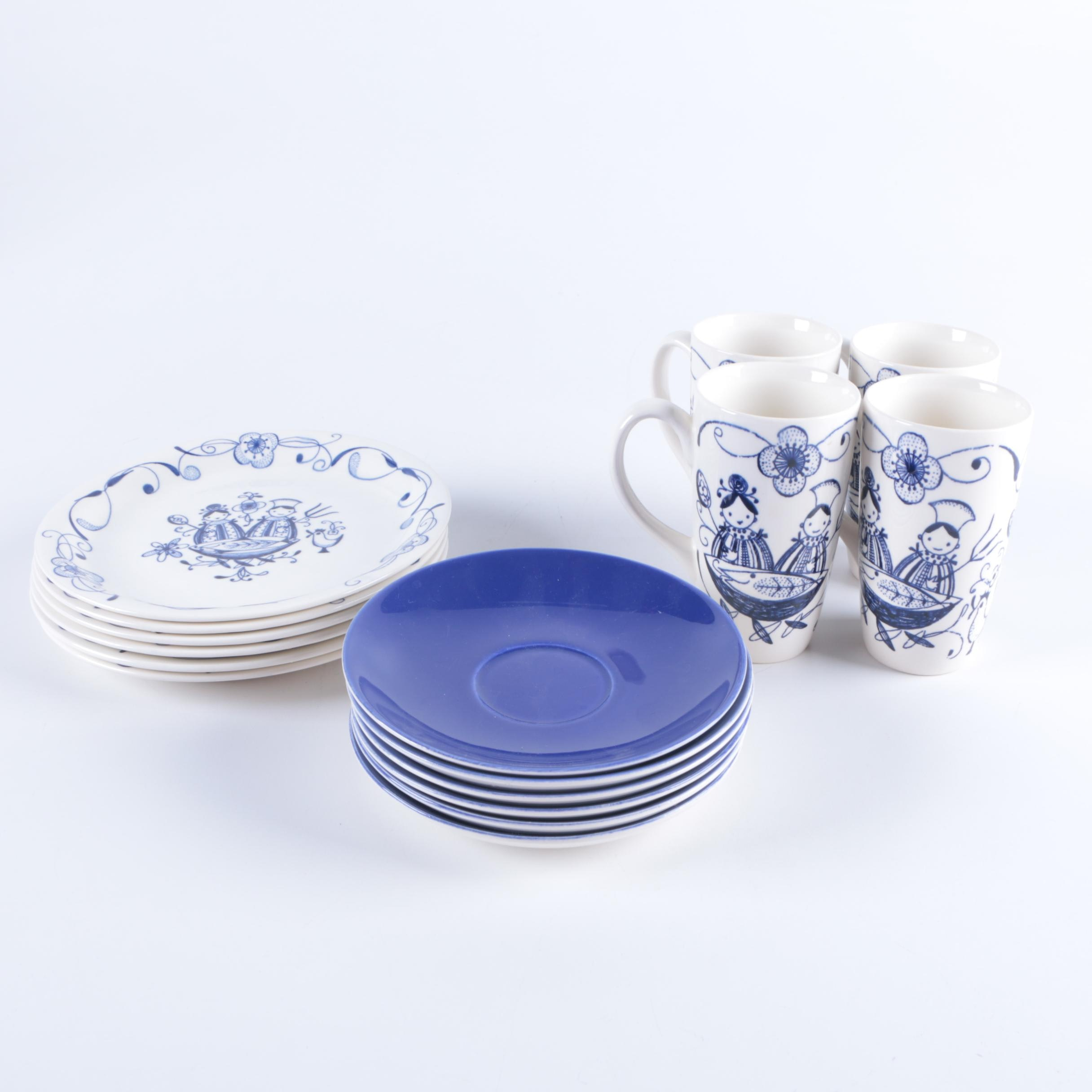 1952-79 Stavangerflint Earthenware Tableware
