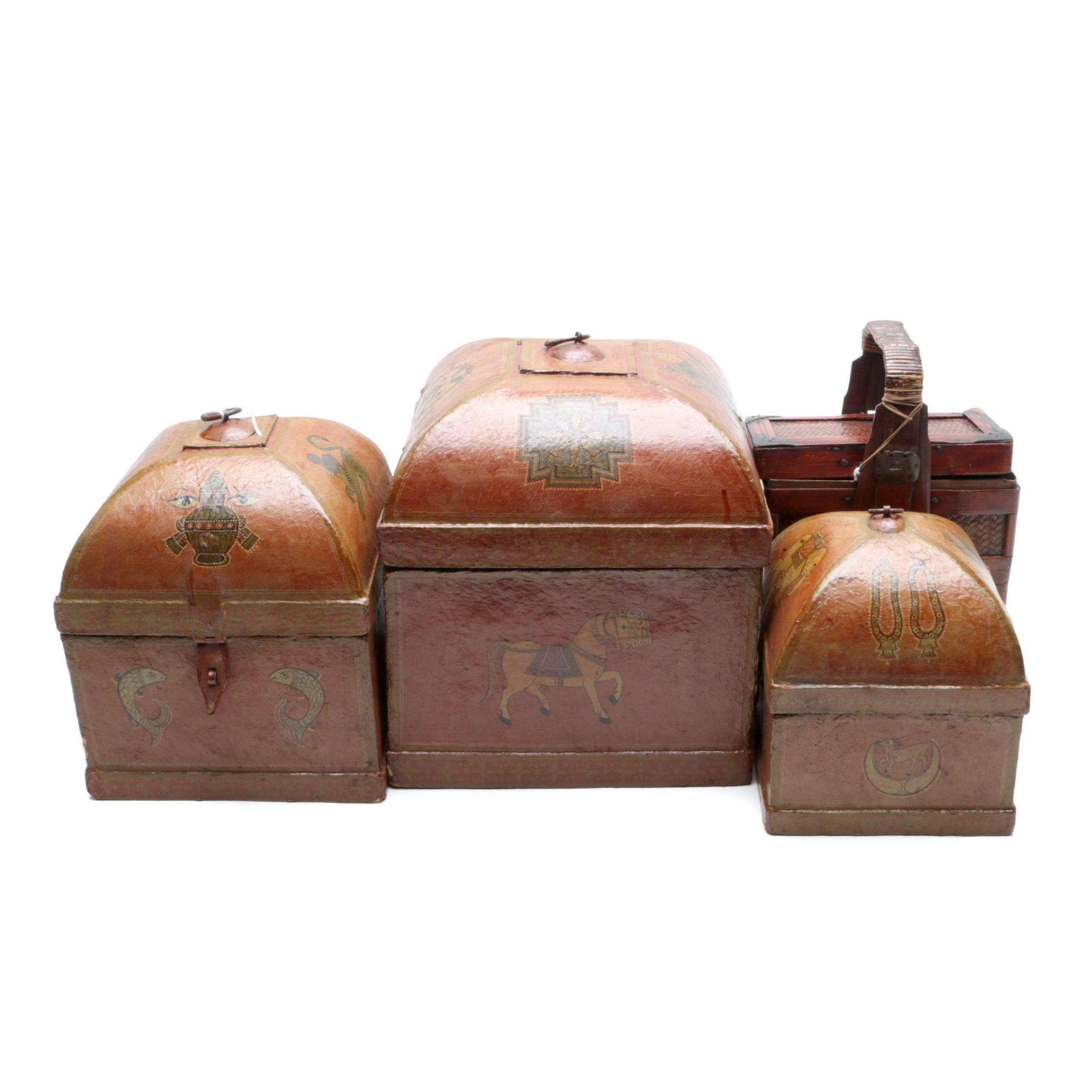 Asian Inspired Decorative Boxes
