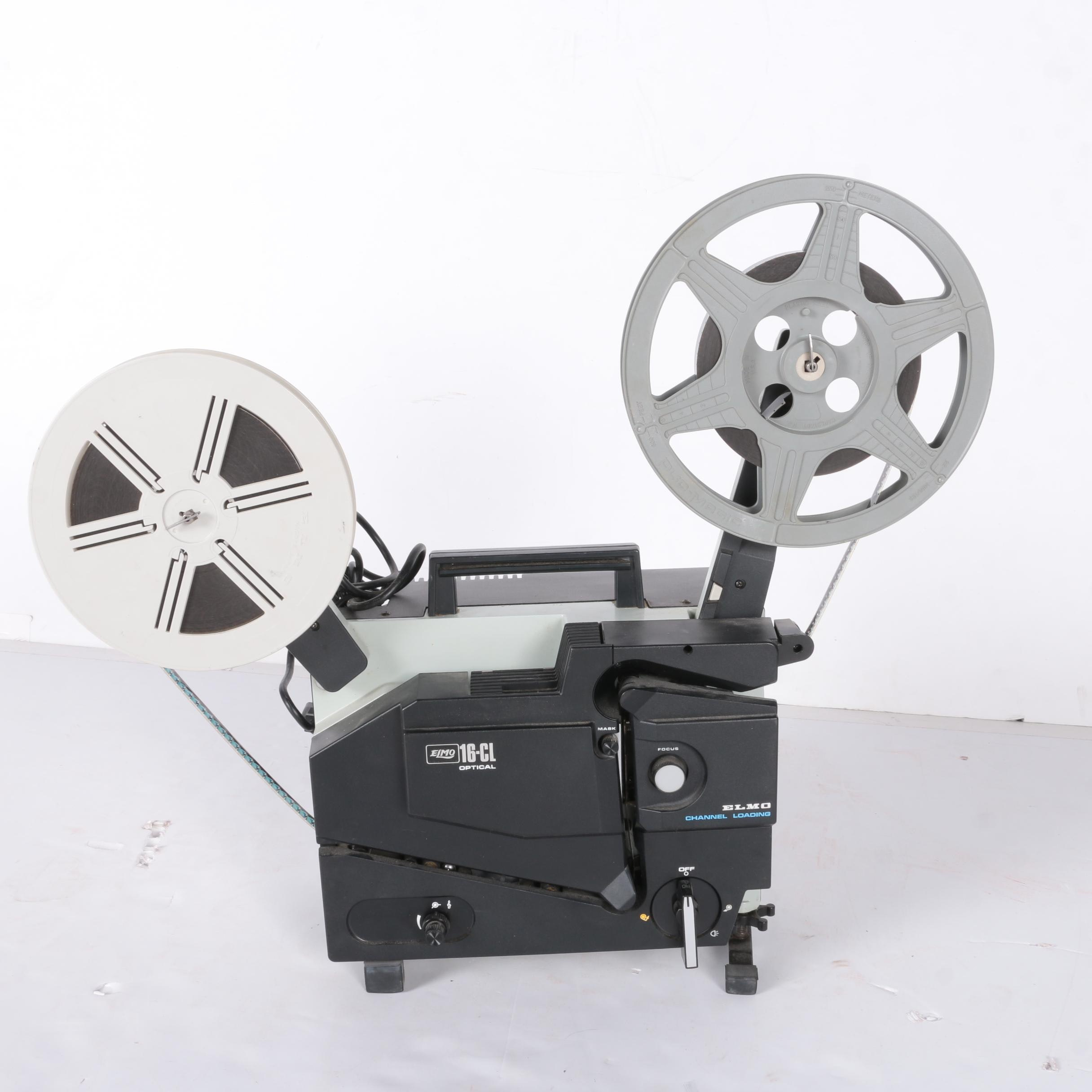 "Elmo ""16-CL Optical"" Reel to Reel Film Projector"