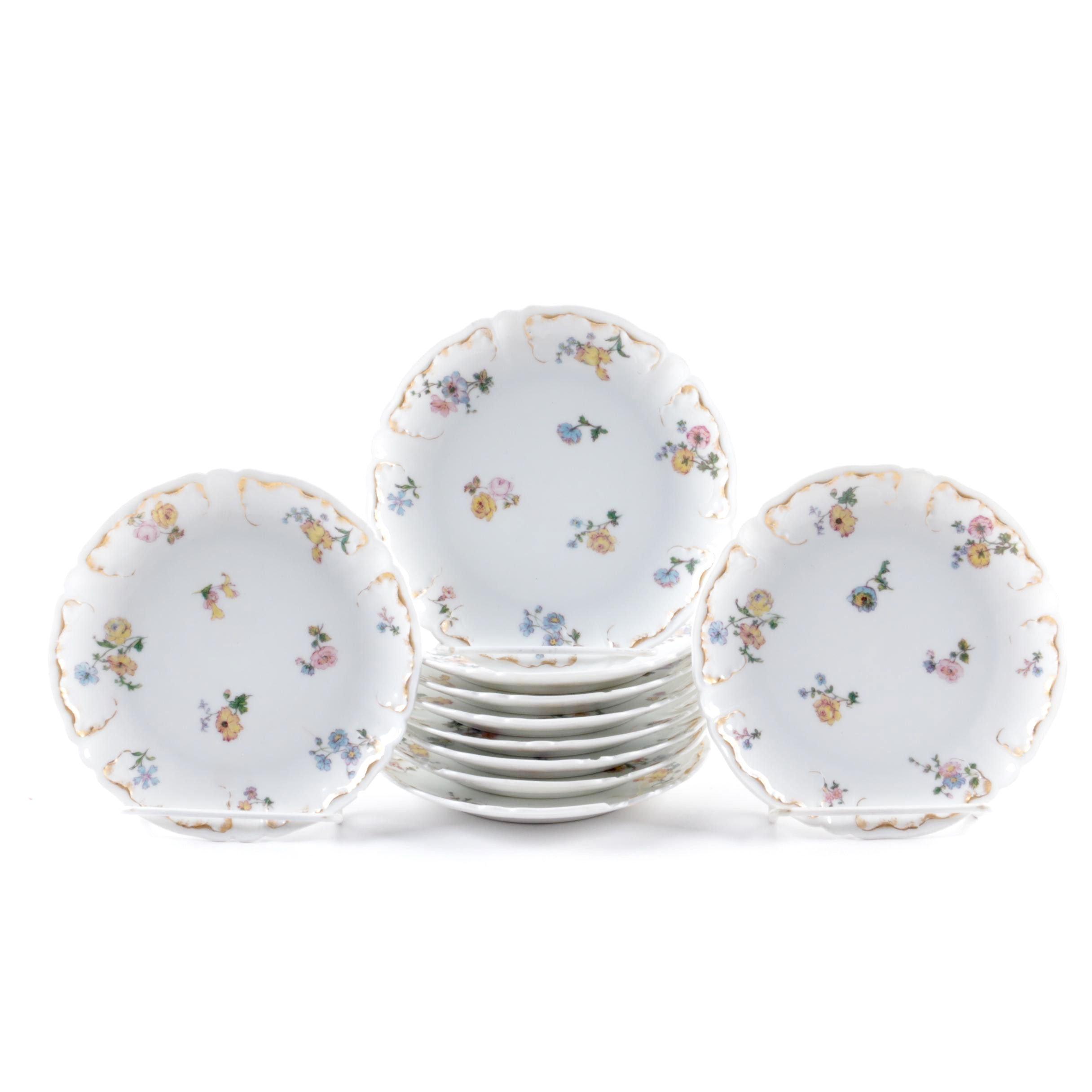 Antique Haviland & Co. Porcelain Plates