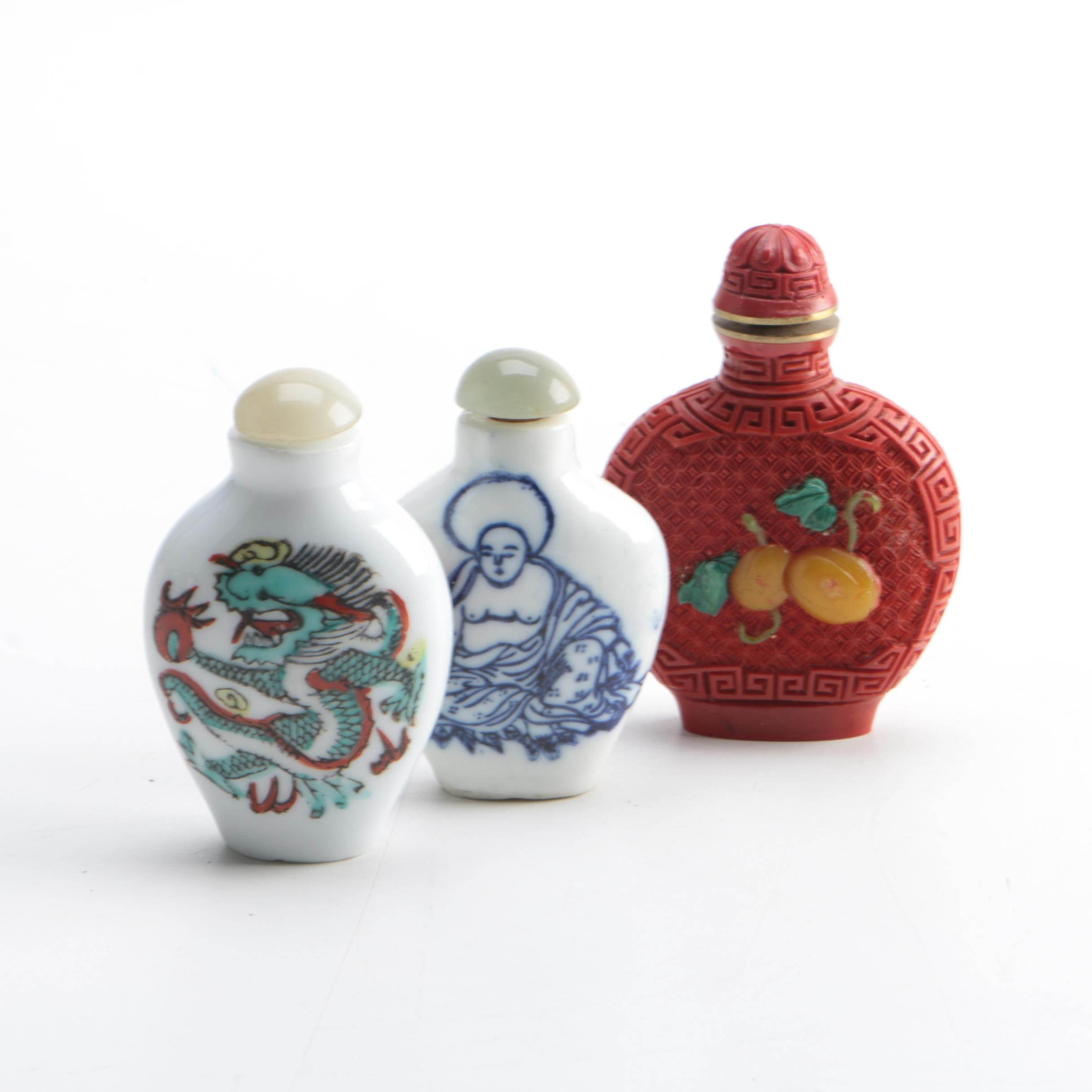 Asian Inspired Snuff Bottles