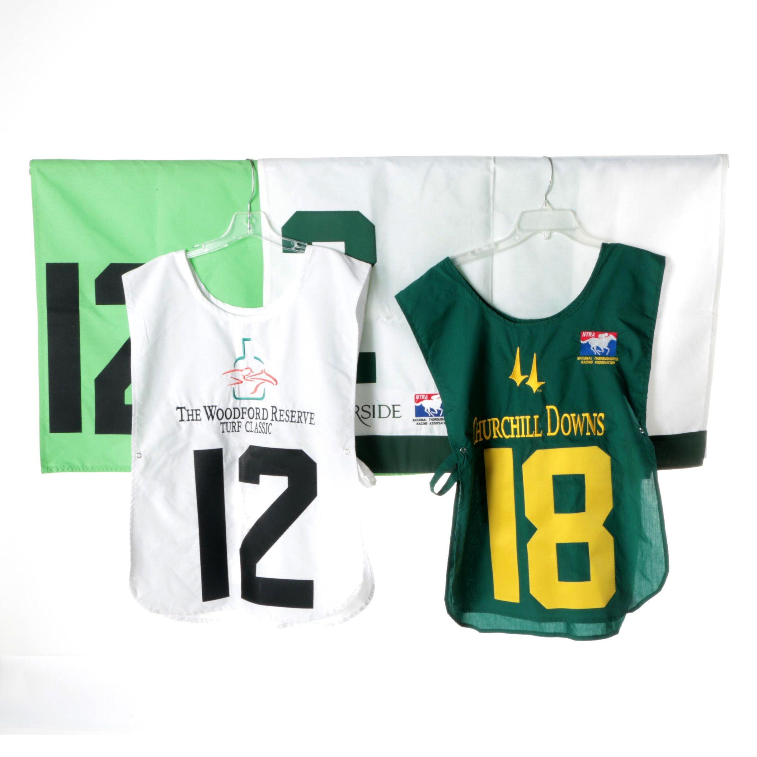 Becker & Durski Horse Racing Vest and Linens