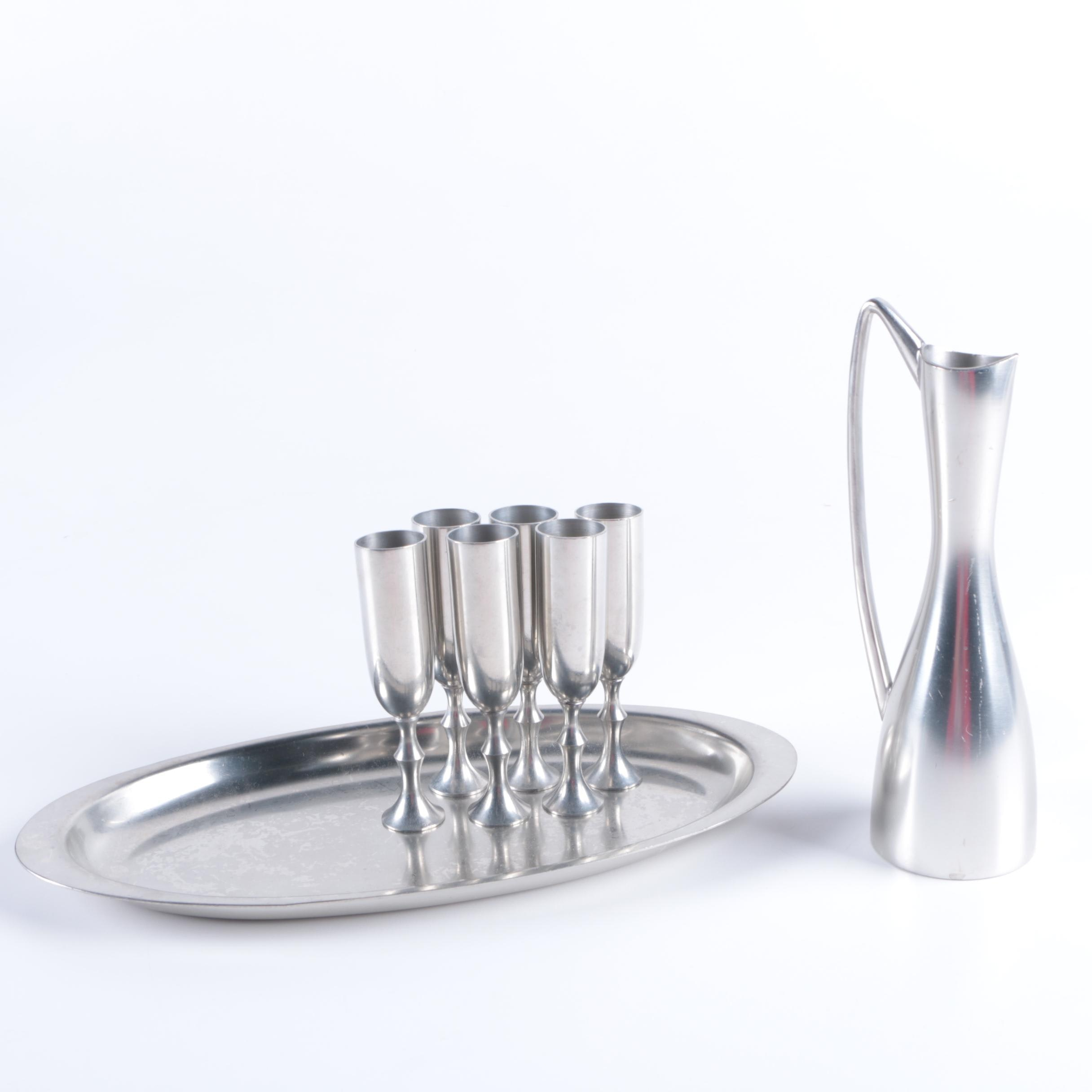 Metawa Holland Pewter Tableware