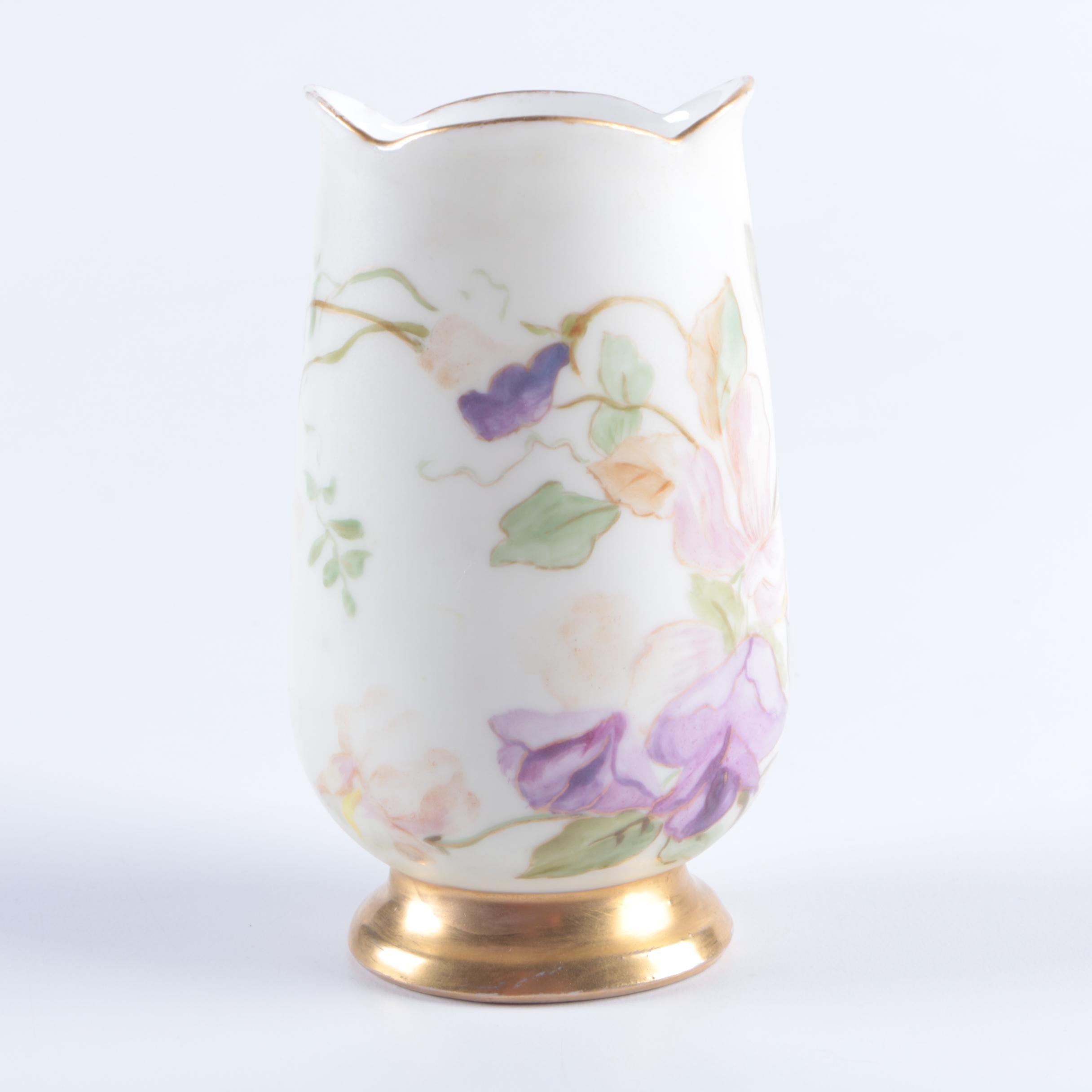Antique Porcelain Posy Vase
