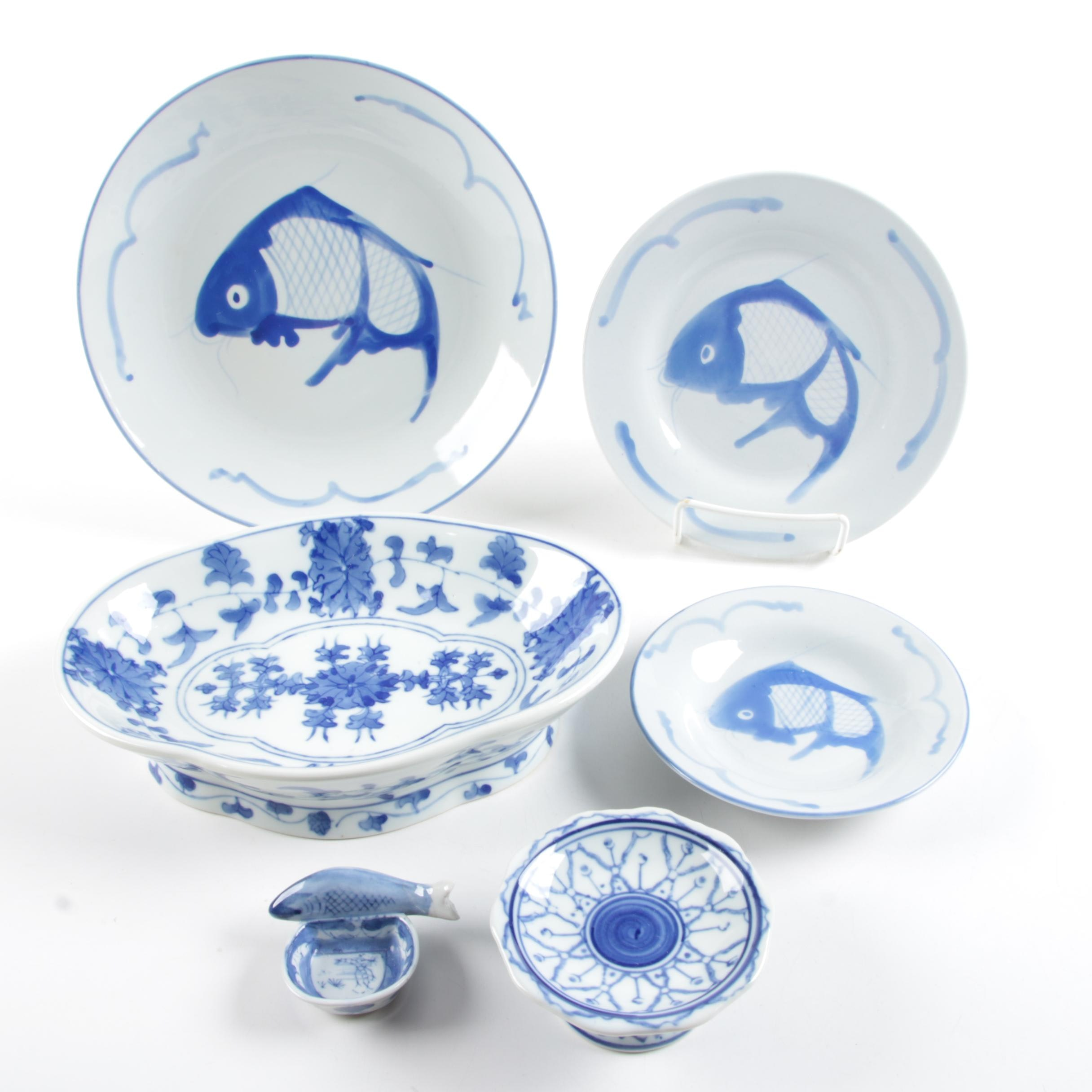 Chinese Blue and White Tableware