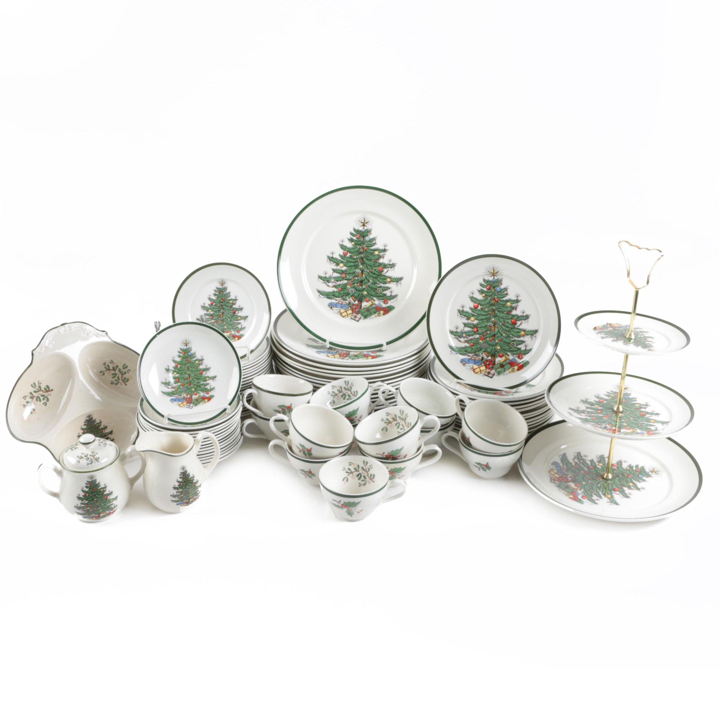 Christmas Themed Ceramic Tableware