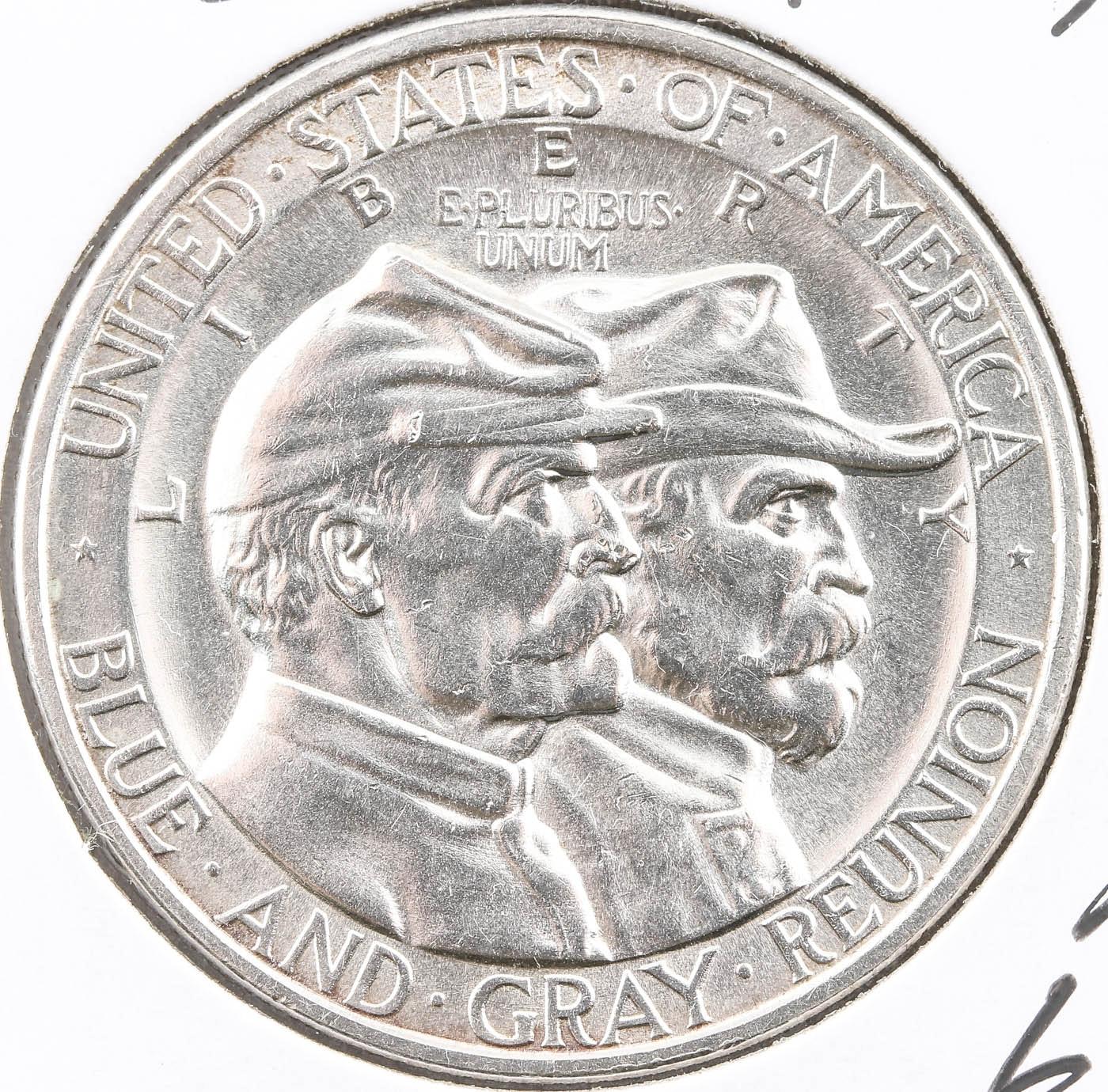 1936 Gettysburg Commemorative Silver Half Dollar