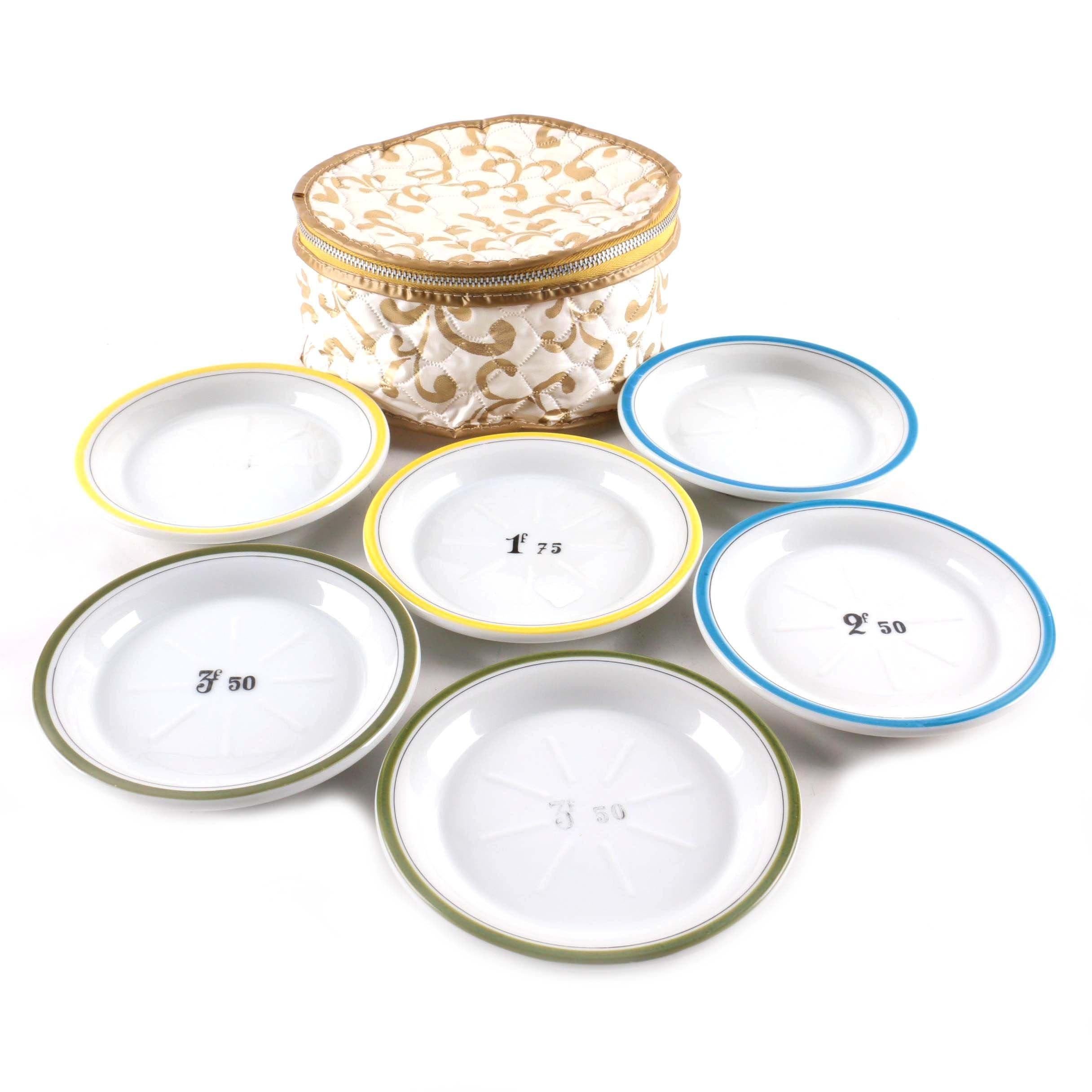Porcelain Bread Plates