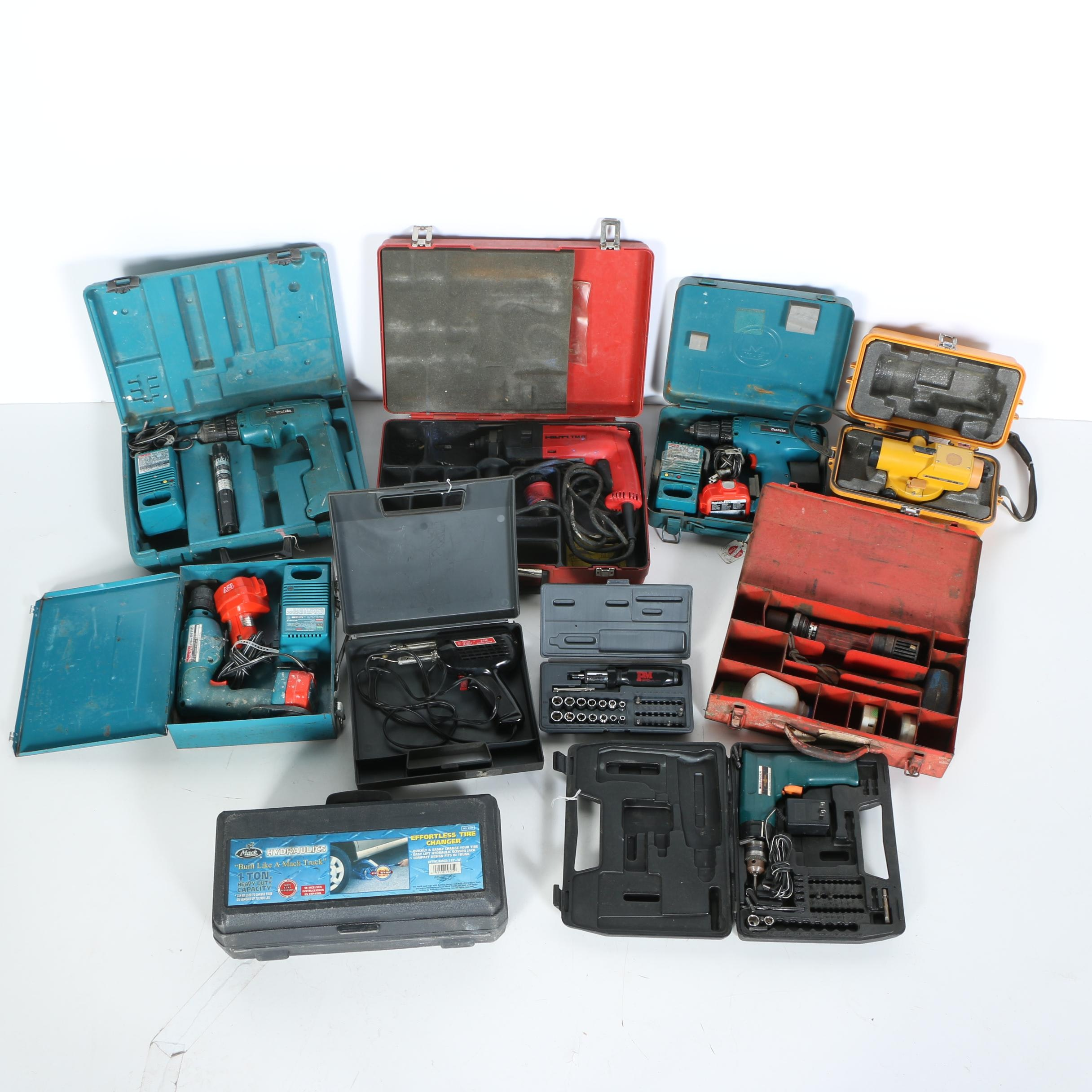 Power Drills and Other Tools