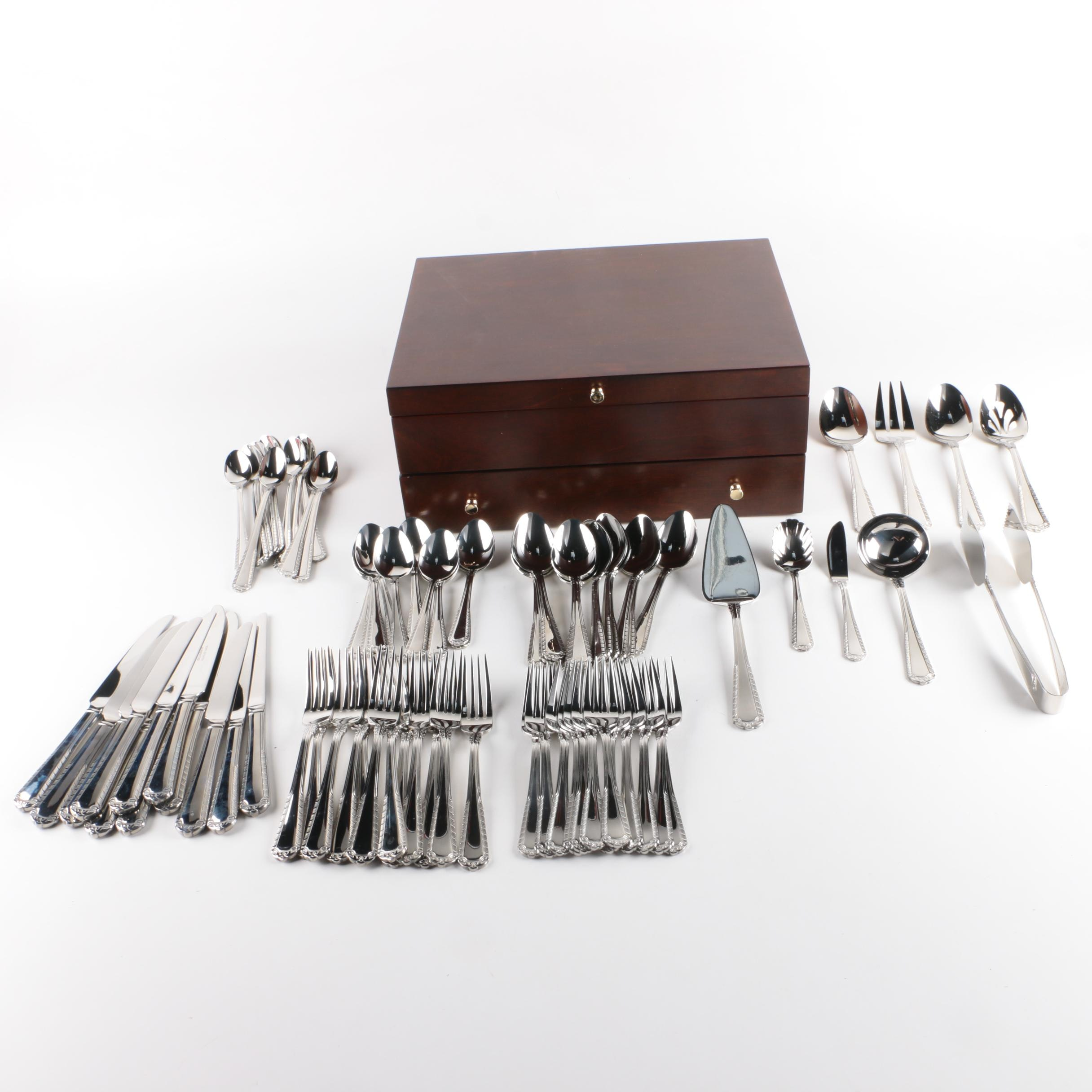 Reed & Barton Stainless Steel Flatware Set