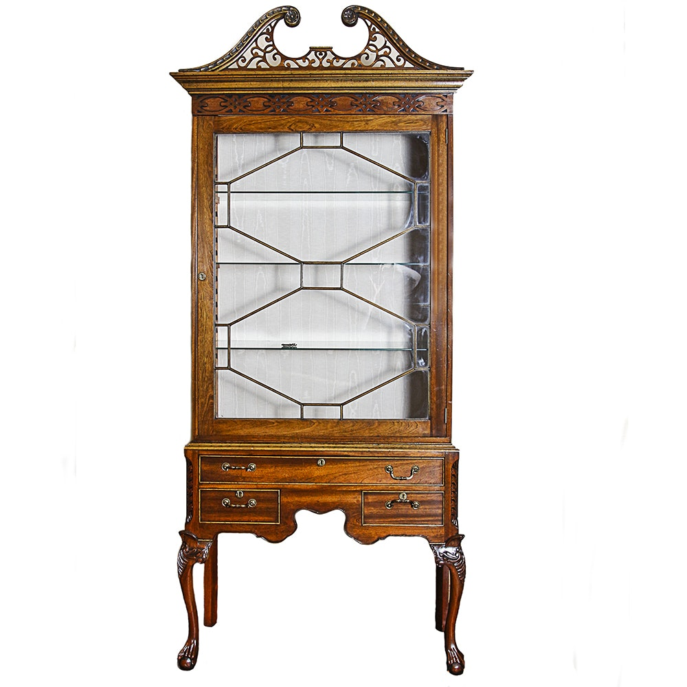 Chippendale Style China / Display Cabinet