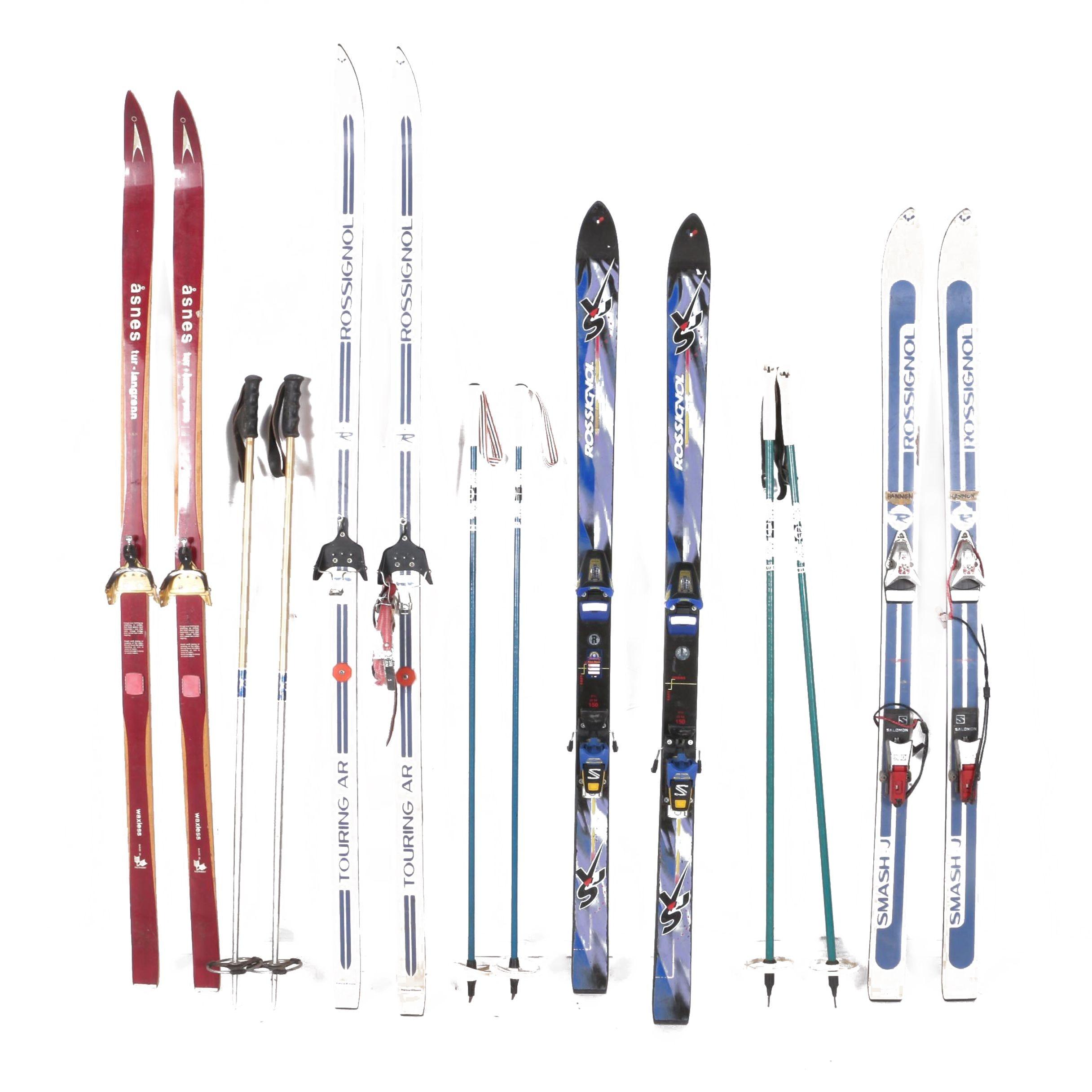 Rossignol and Åsnes Touring Skis