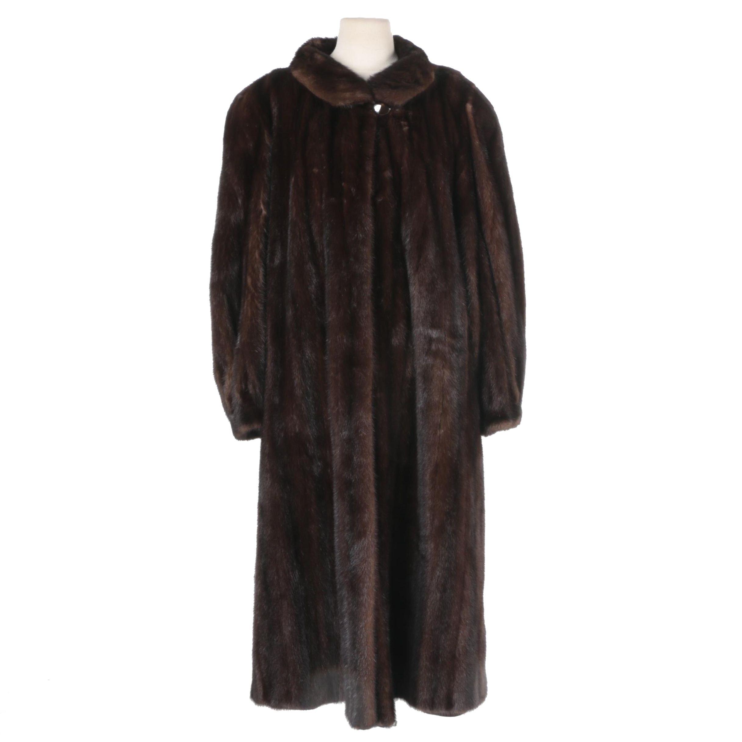 Vintage Pierre Balmain Mink Coat