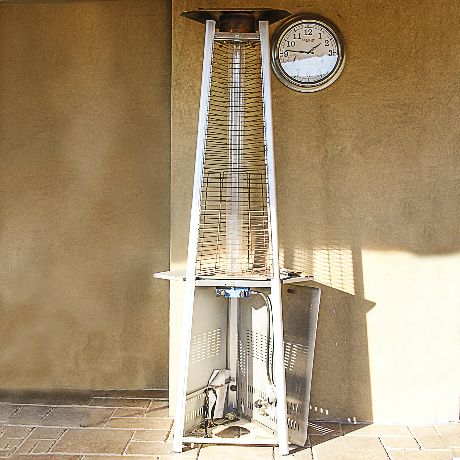 Gas Powered Patio Tower Heater