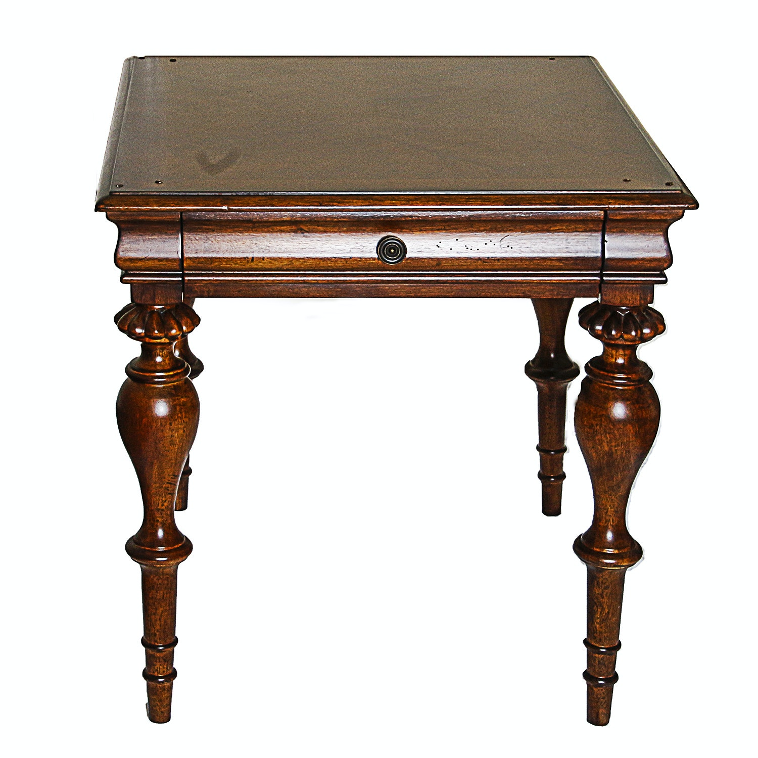 Neoclassical Style Side Table by Fine Furniture