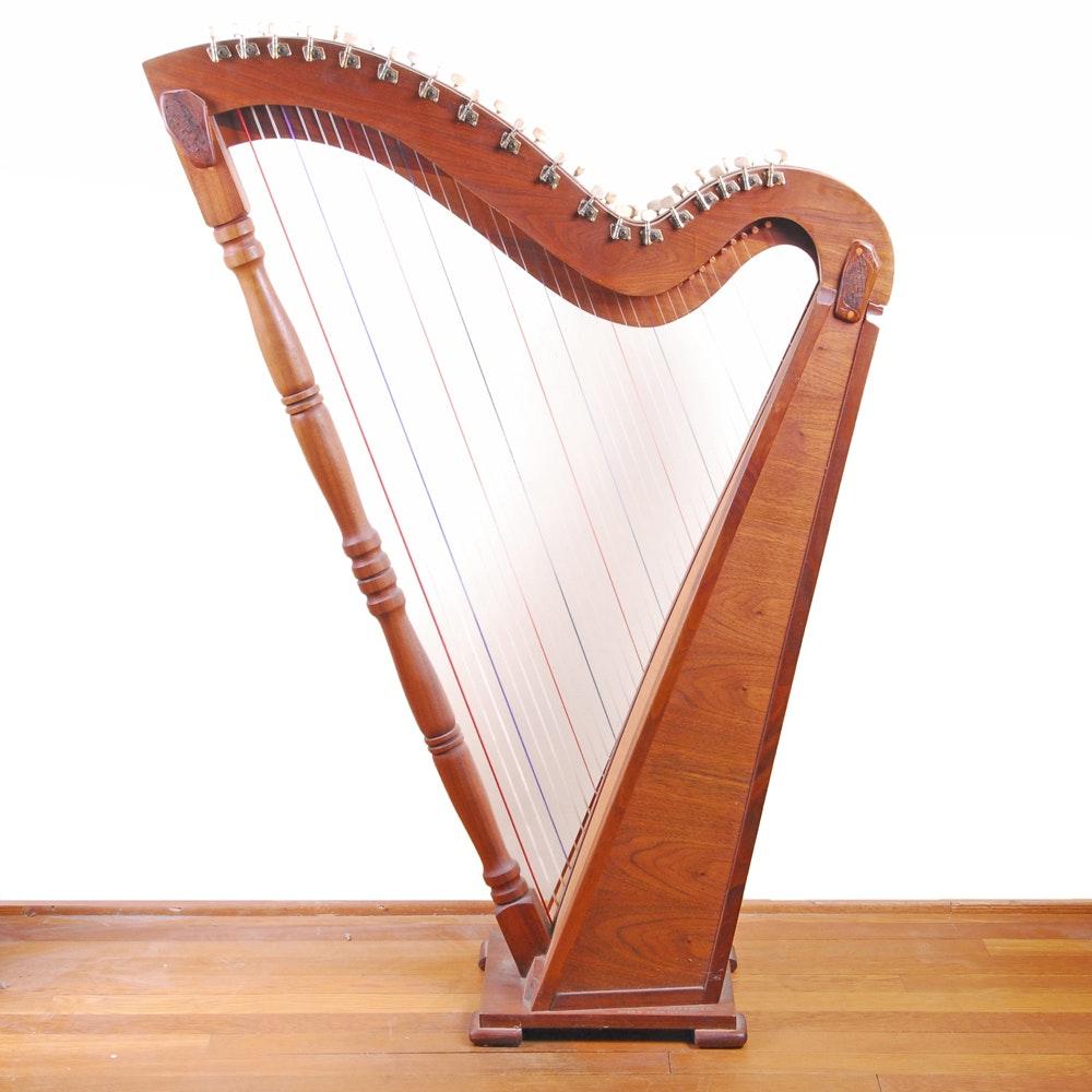 Mahogany Bardic Harp