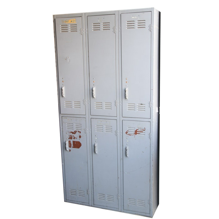 Vintage School Style Lockers
