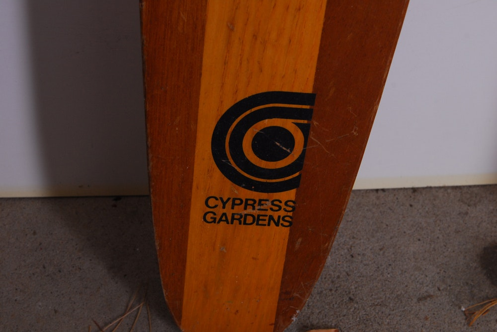 Cypress Auto Sales >> Vintage Cypress Gardens Water Skis | EBTH