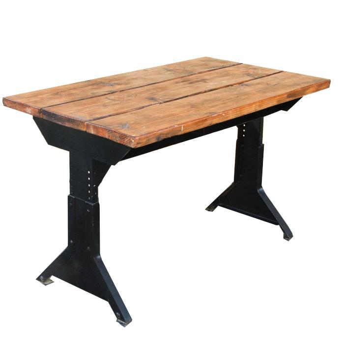 Restoration Hardware Industrial Style Desk