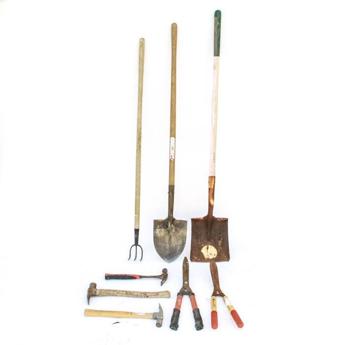 Various Lawn Tools