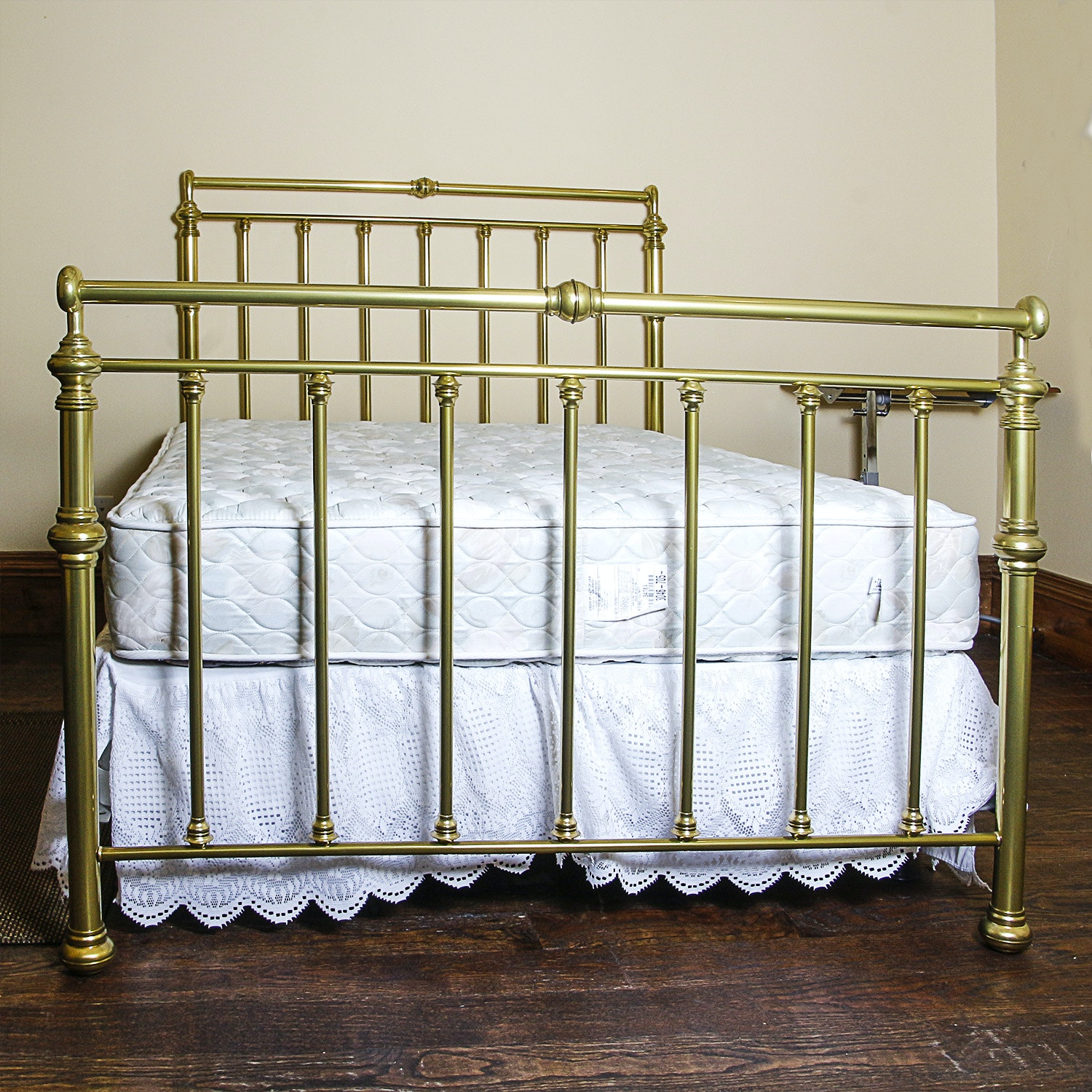 Full-Size Brass Bed