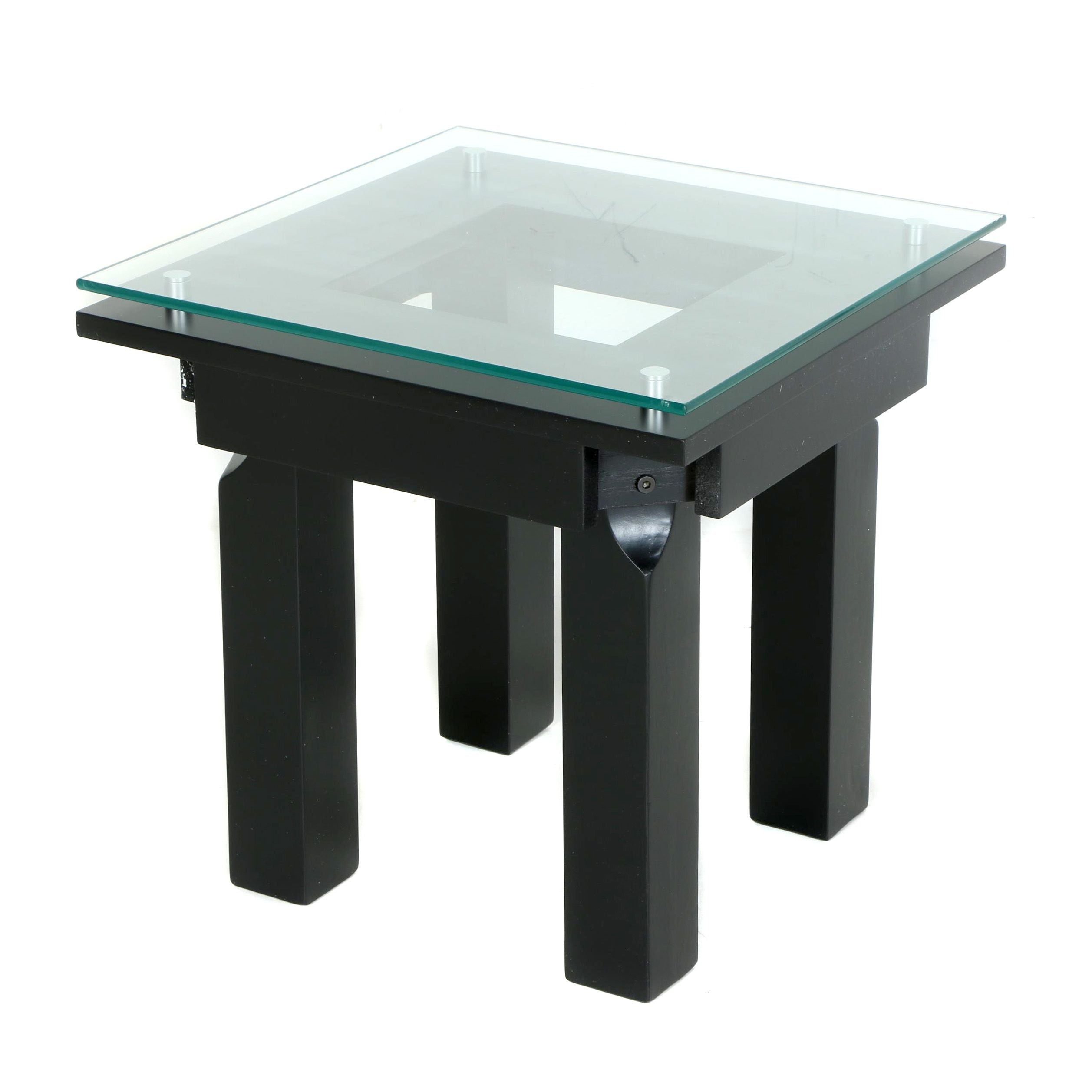 Contemporary Side Table by Plateau