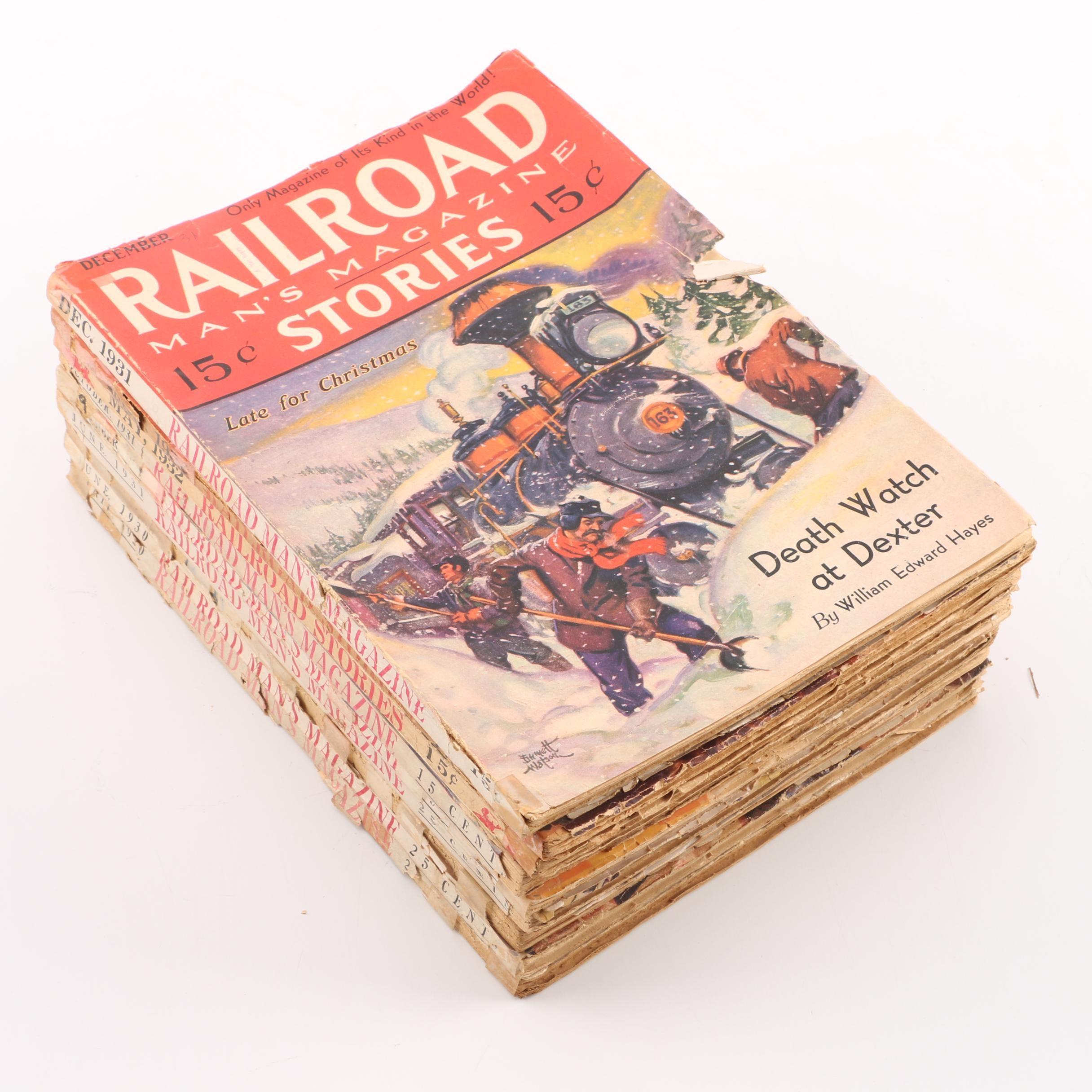 "1930s ""Railroad Man's Magazine"""