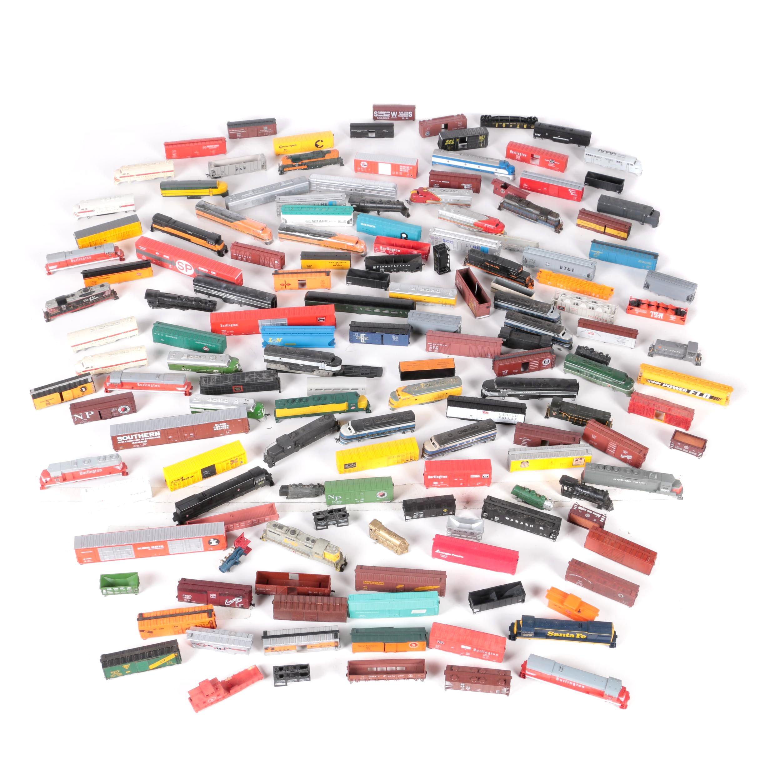 HO Scale Train Car Shells