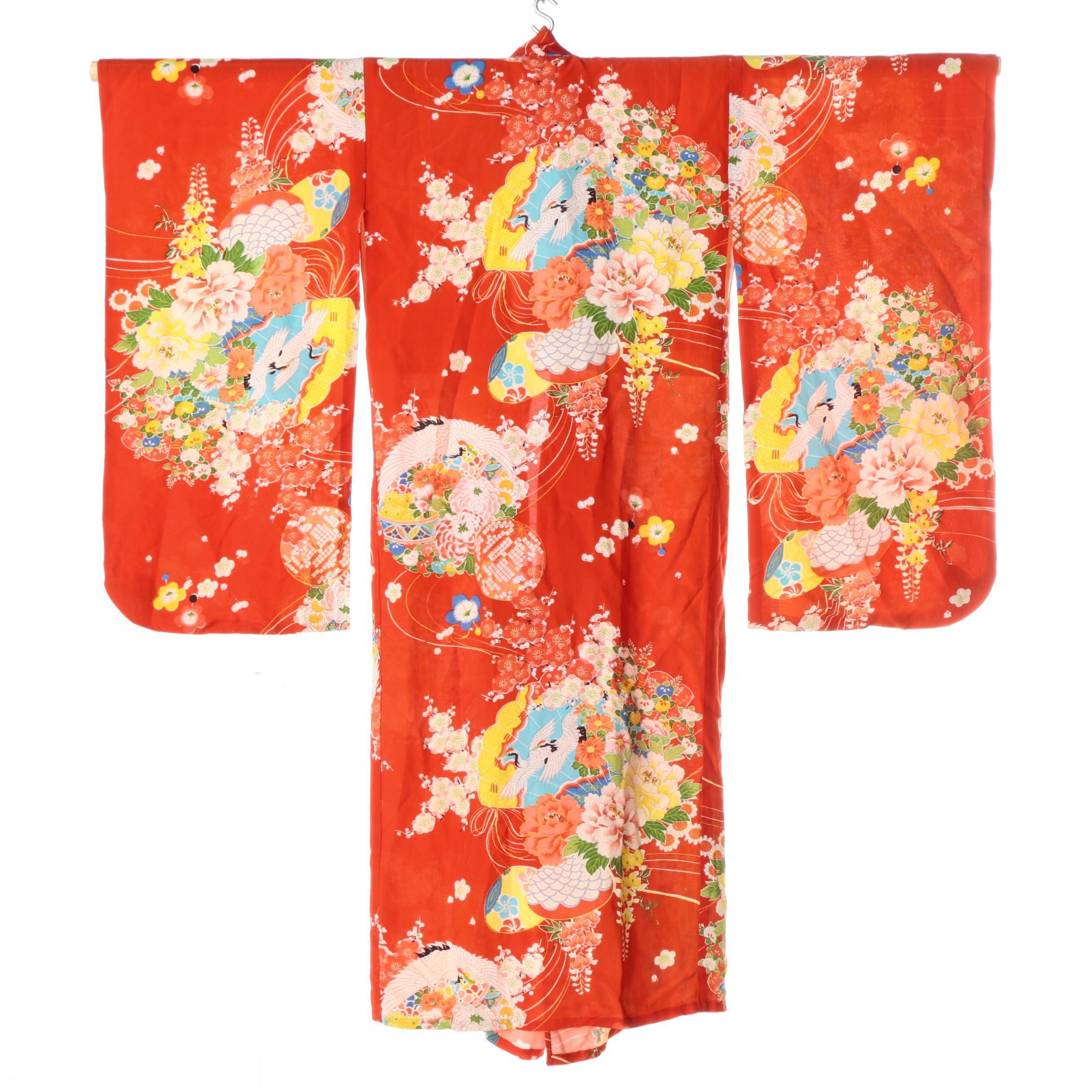 Children's Naga-juban Kimono