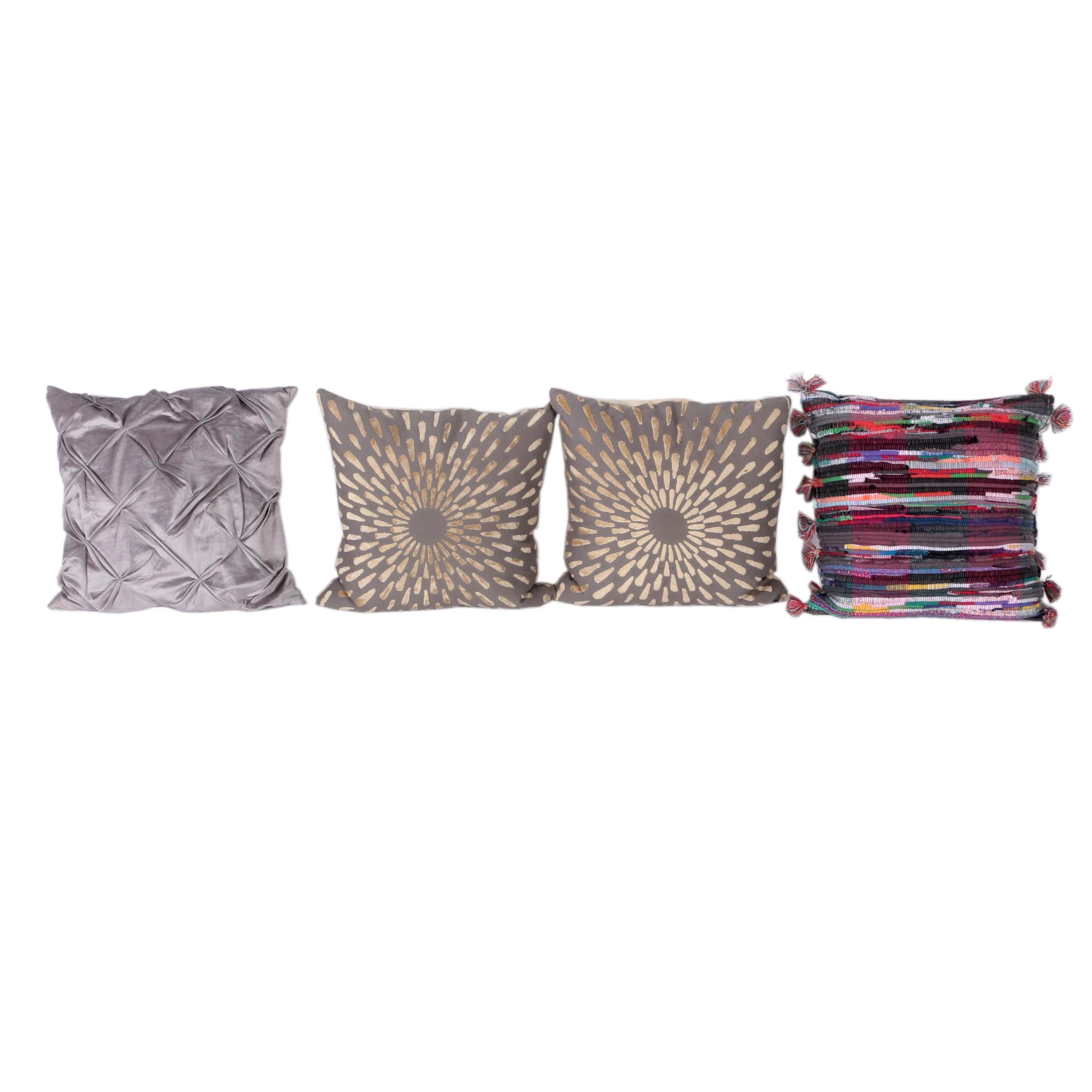 Colorful and Decorative Throw Pillows