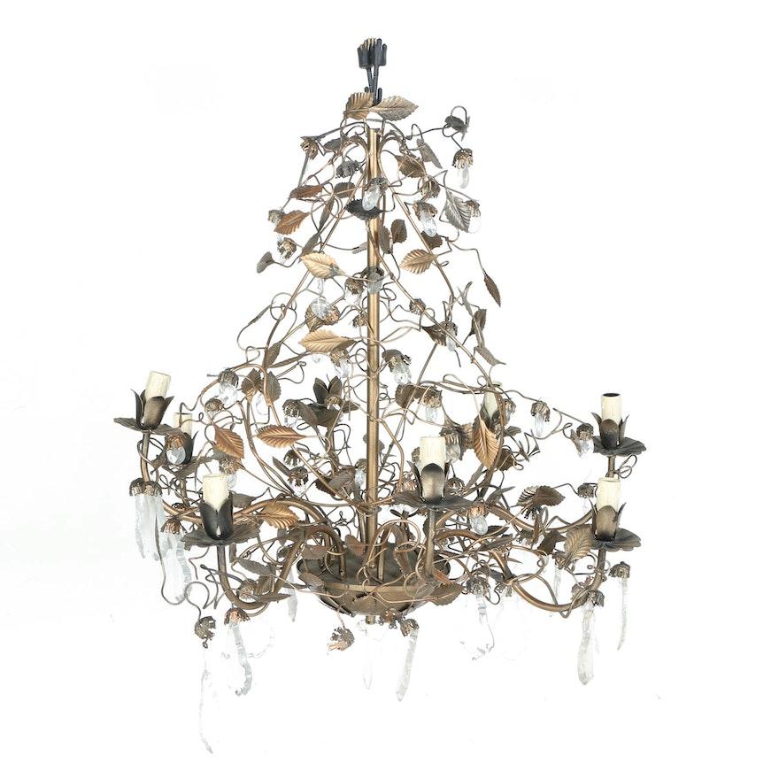 Vintage grapevine chandelier ebth vintage grapevine chandelier 1x1 aloadofball Gallery