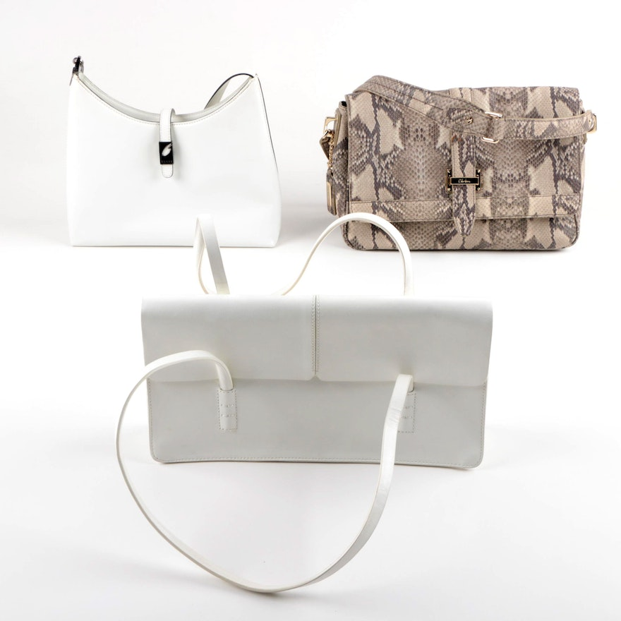 Guess Alfani And Cole Haan Leather Handbags
