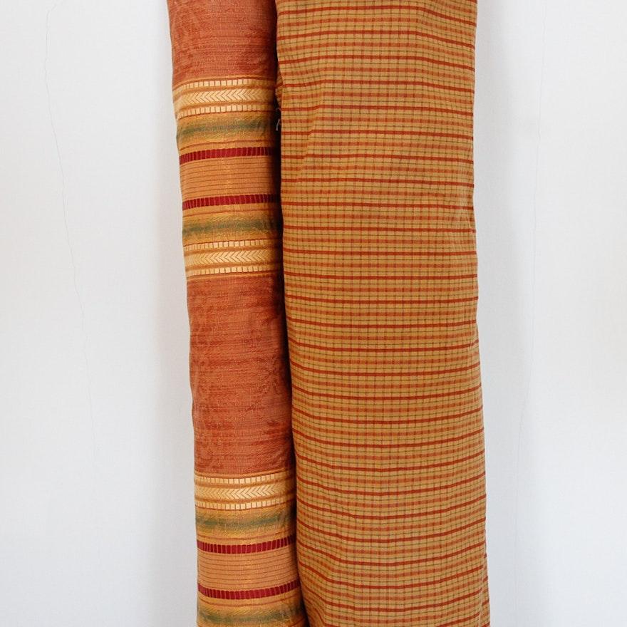 Warm Tone Upholstery Fabric Bolts Ebth