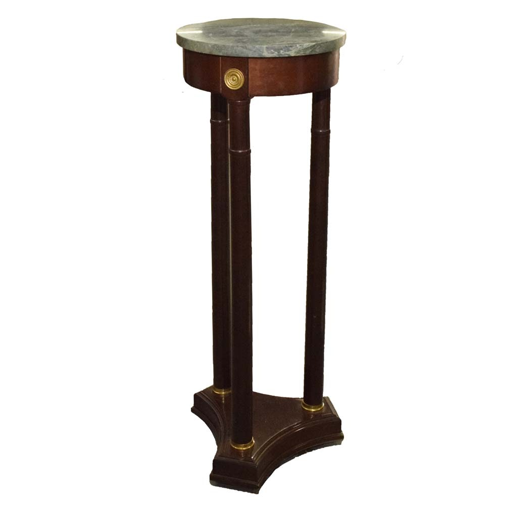 Bombay Company Regency Style Pedestal Table