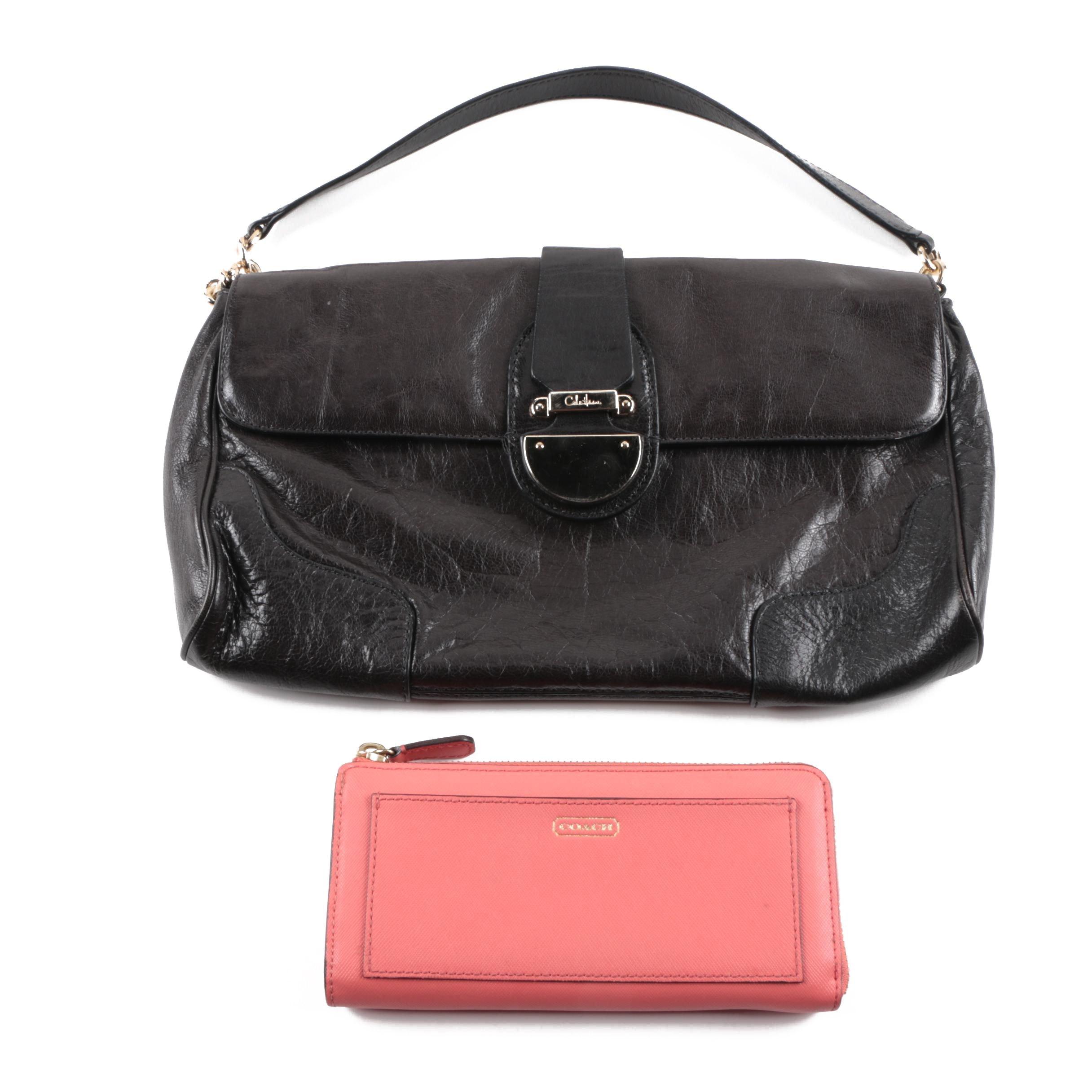 Coach Wallet and Cole Haan handbag