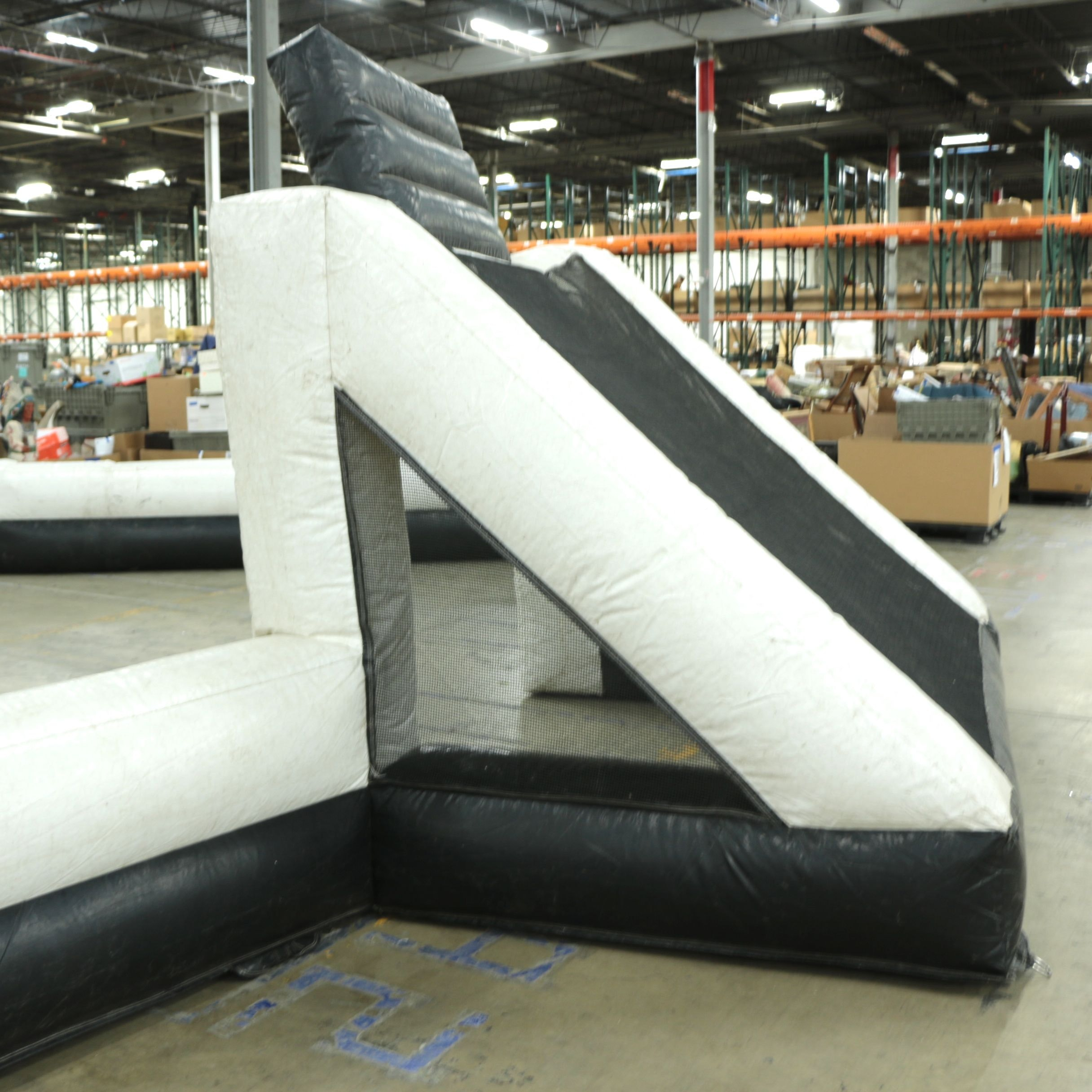 Inflatable Soccer and Basketball Court