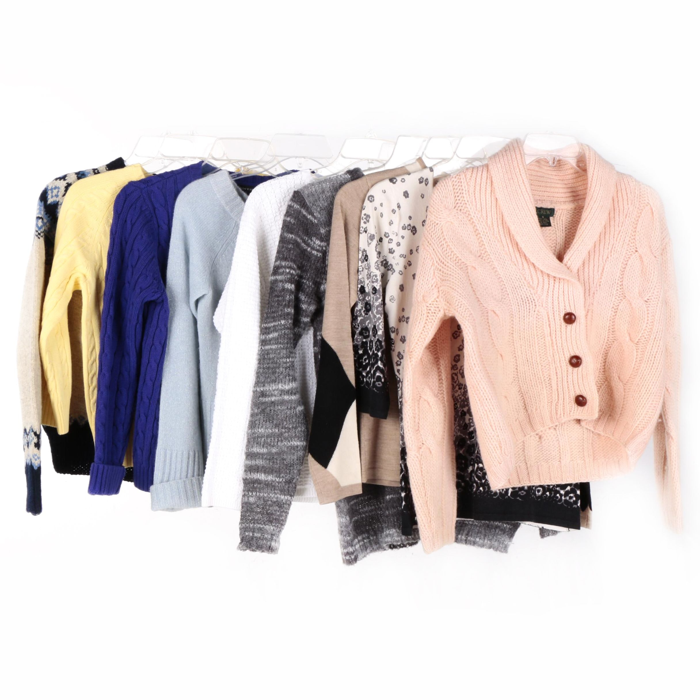 Womens Sweaters Including Lands End And J Crew Ebth