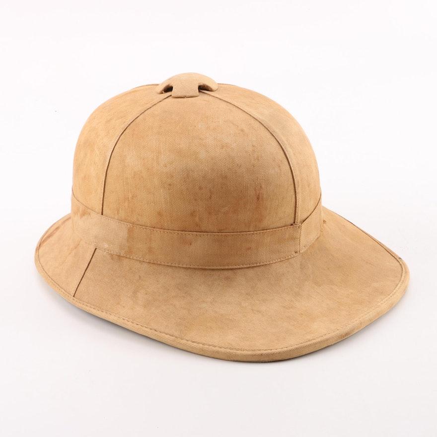 dfd3bcc492382 Vintage British Military Pith Helmet   EBTH