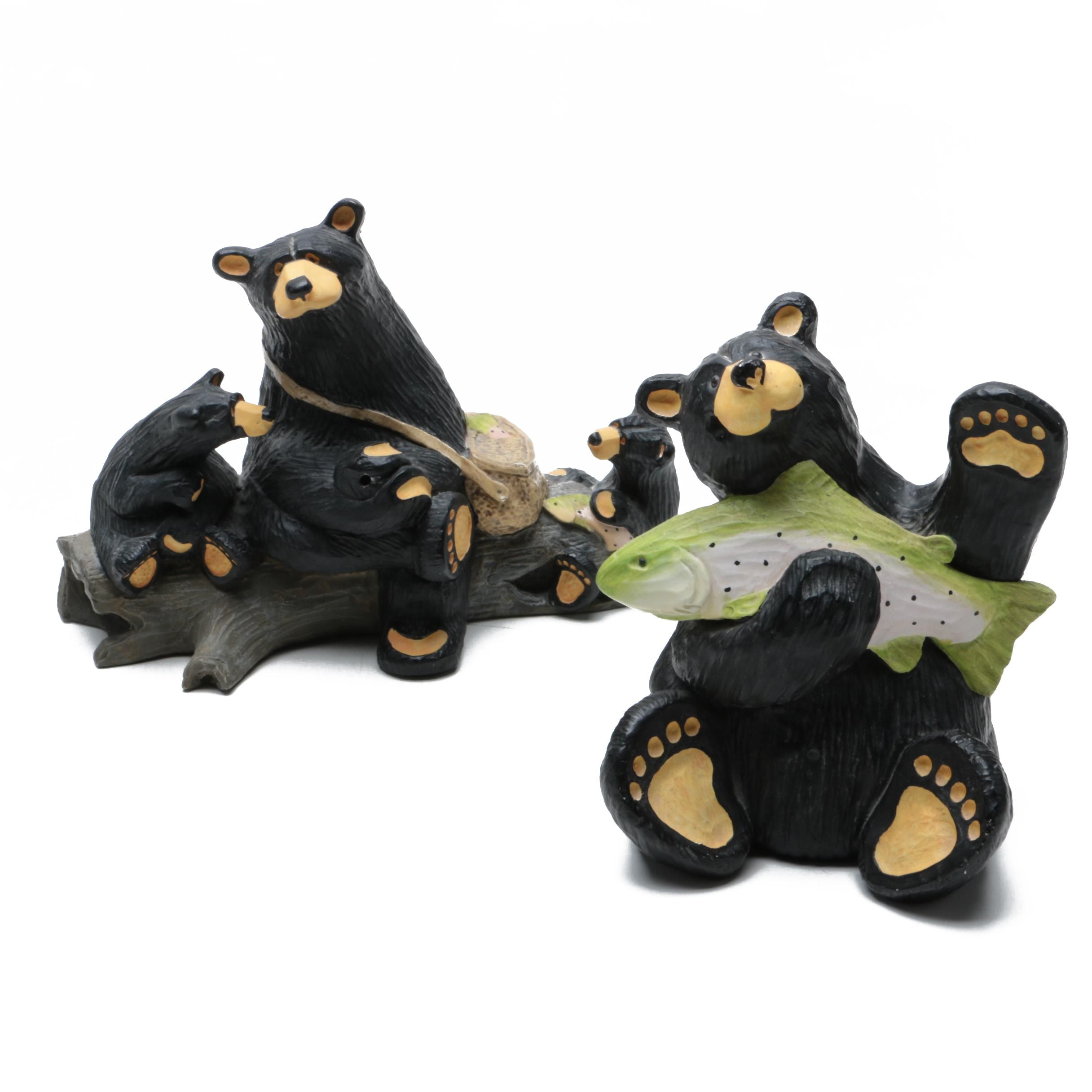 """Singing Tree """"Bear Foots"""" Figurines from Jeff Flemming"""