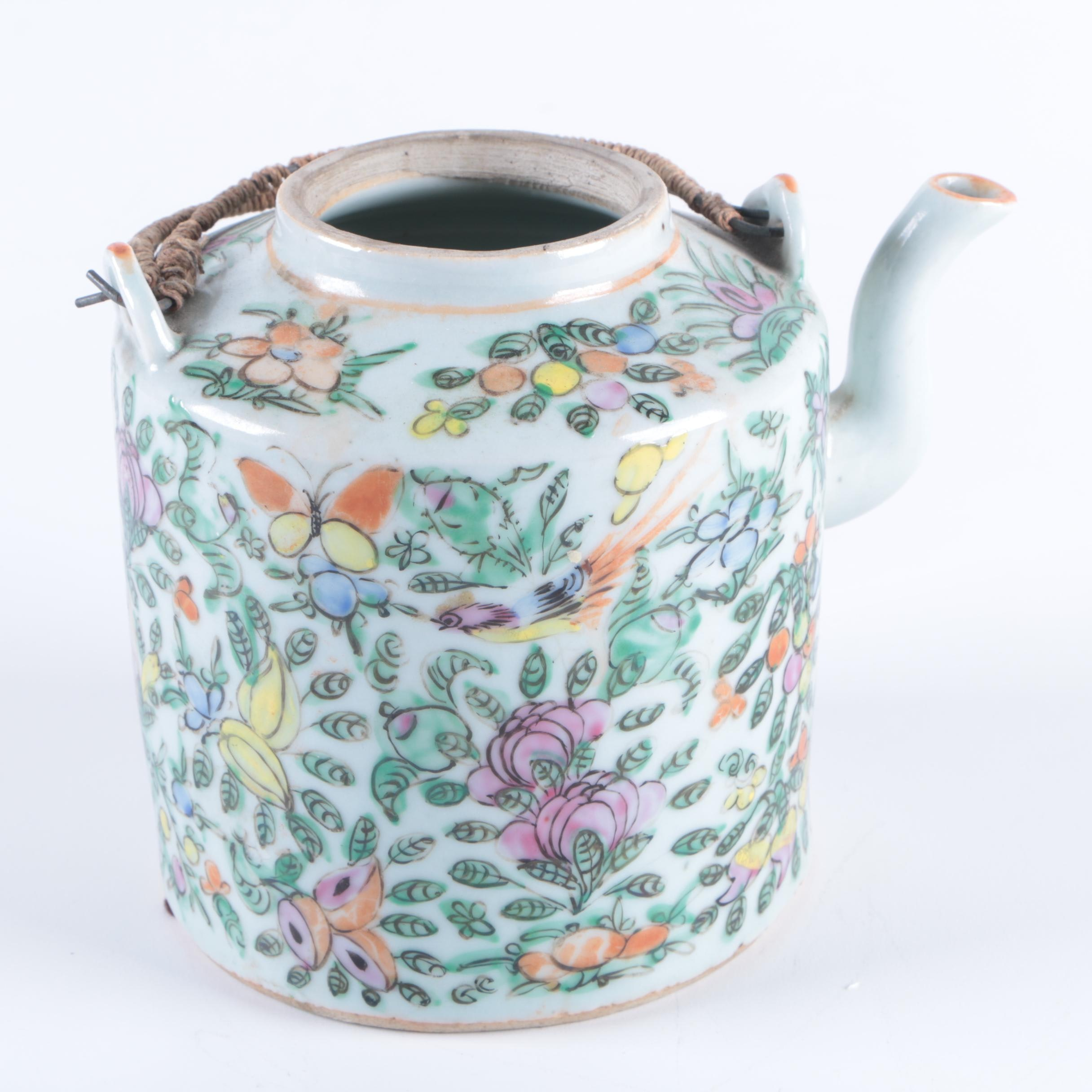 Chinese Hand-painted Teapot