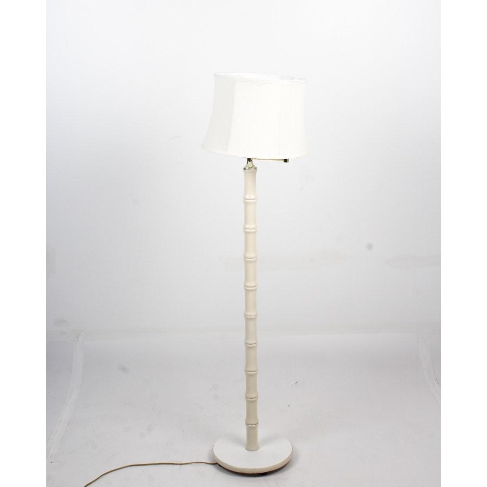 Faux Bamboo Floor Lamp ...