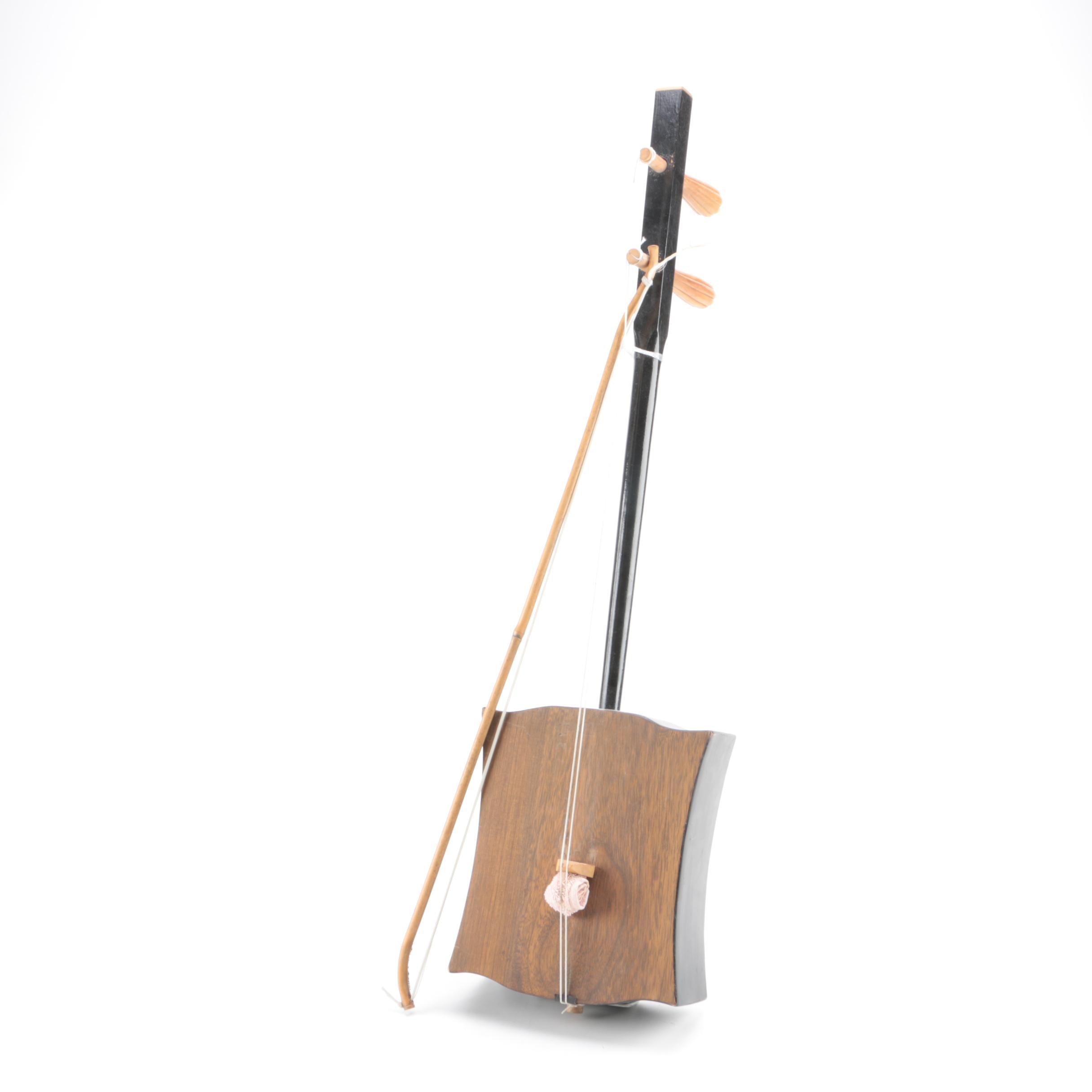Prototype Mongolian Morin Khurr with Bow