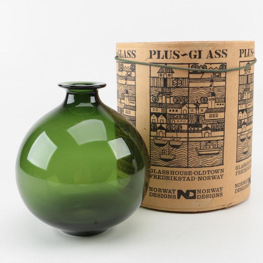 Norway Designs Plusglass Vase From Fredrikstad Ebth