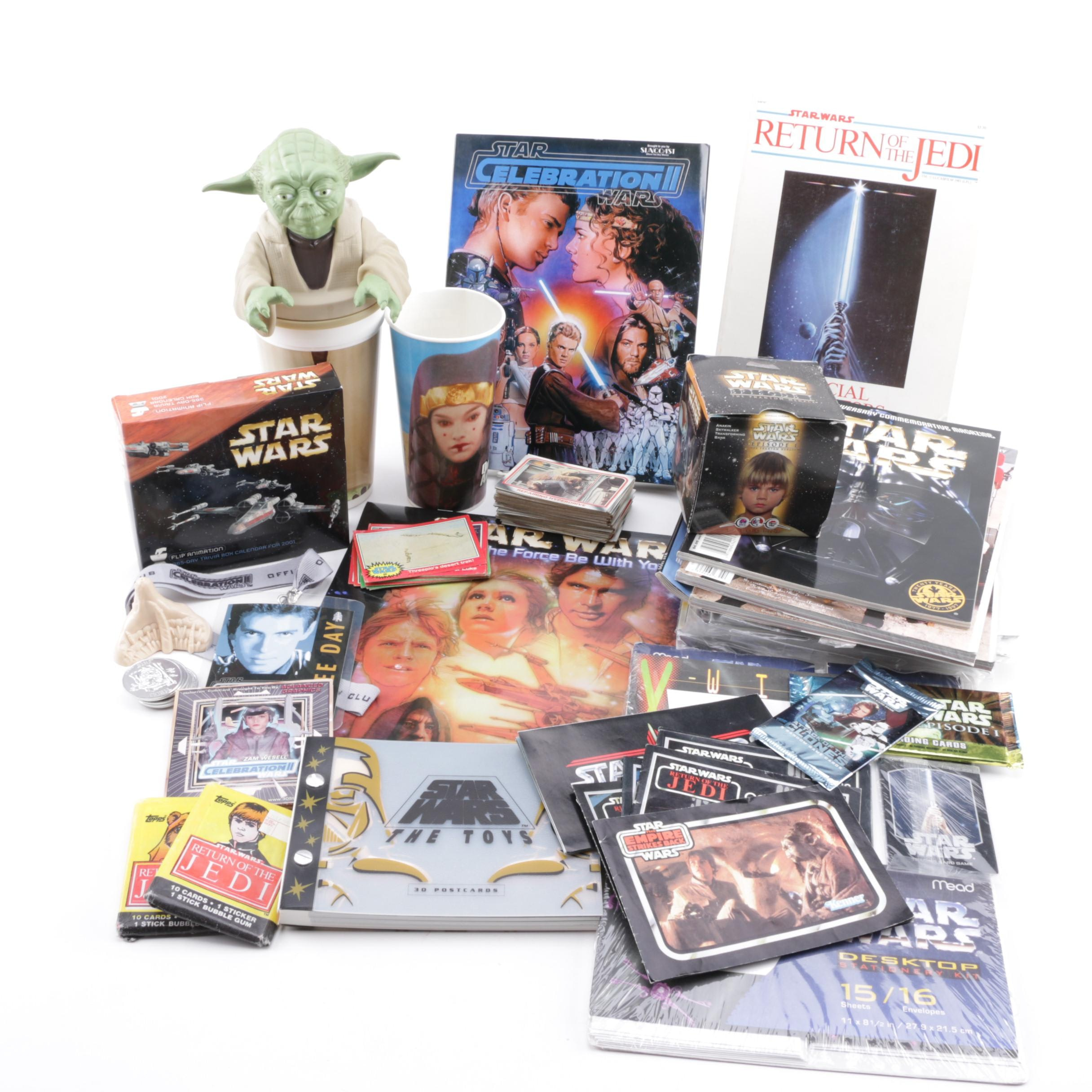 """Assorted """"Star Wars"""" Original and Prequel Trilogy Collectibles"""