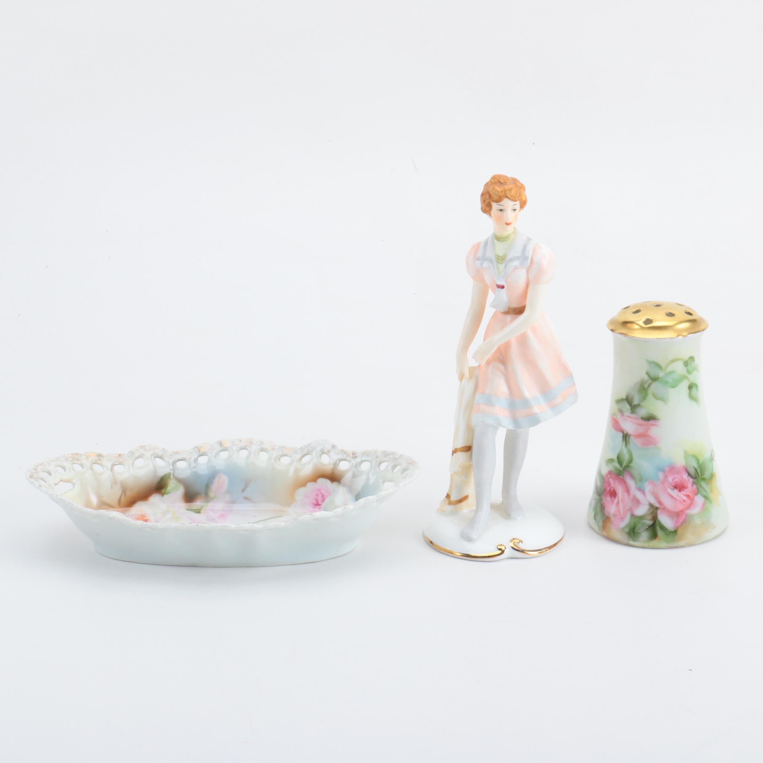 Gibby Maruri Bone China Figurine with German Porcelain