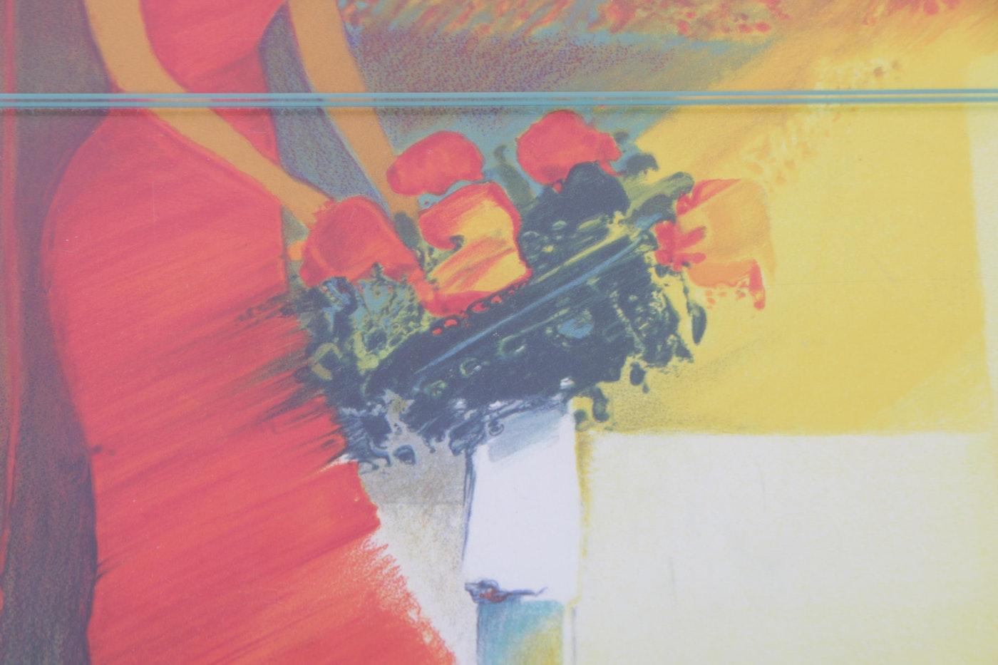Emile bellet hors commerce color lithographs on paper ebth for Decoration interieur f2