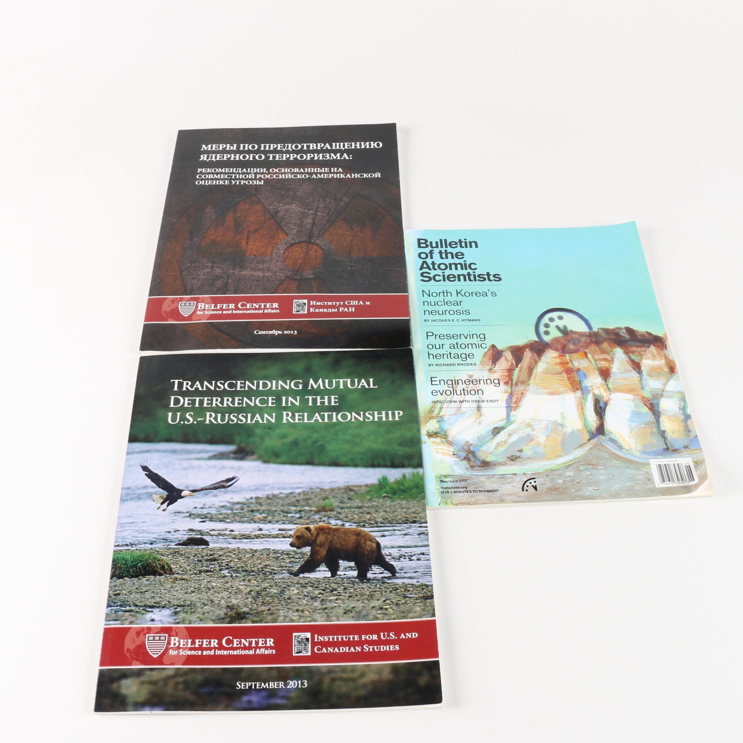 Magazines and Journals on International Politics