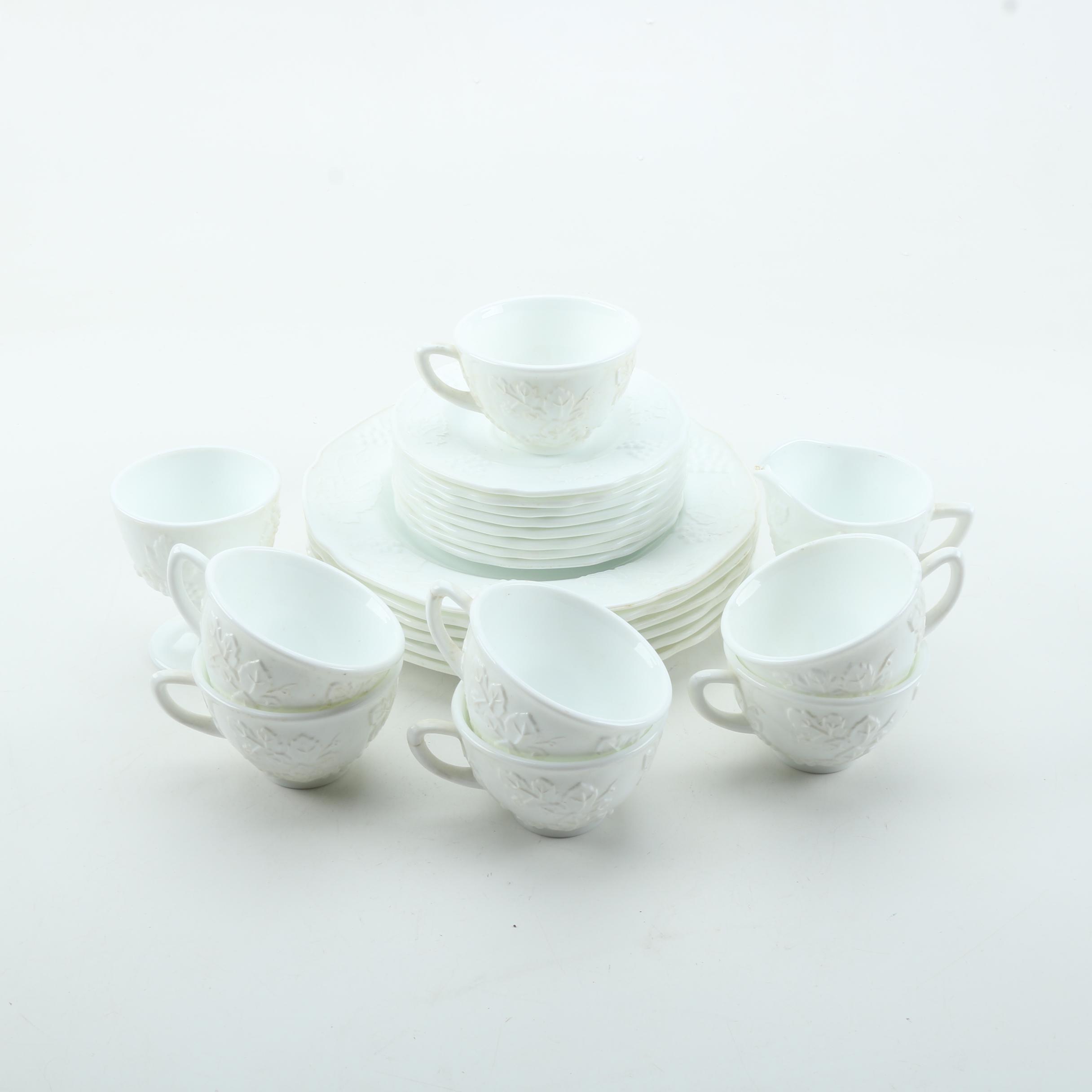 Milk Glass Tableware