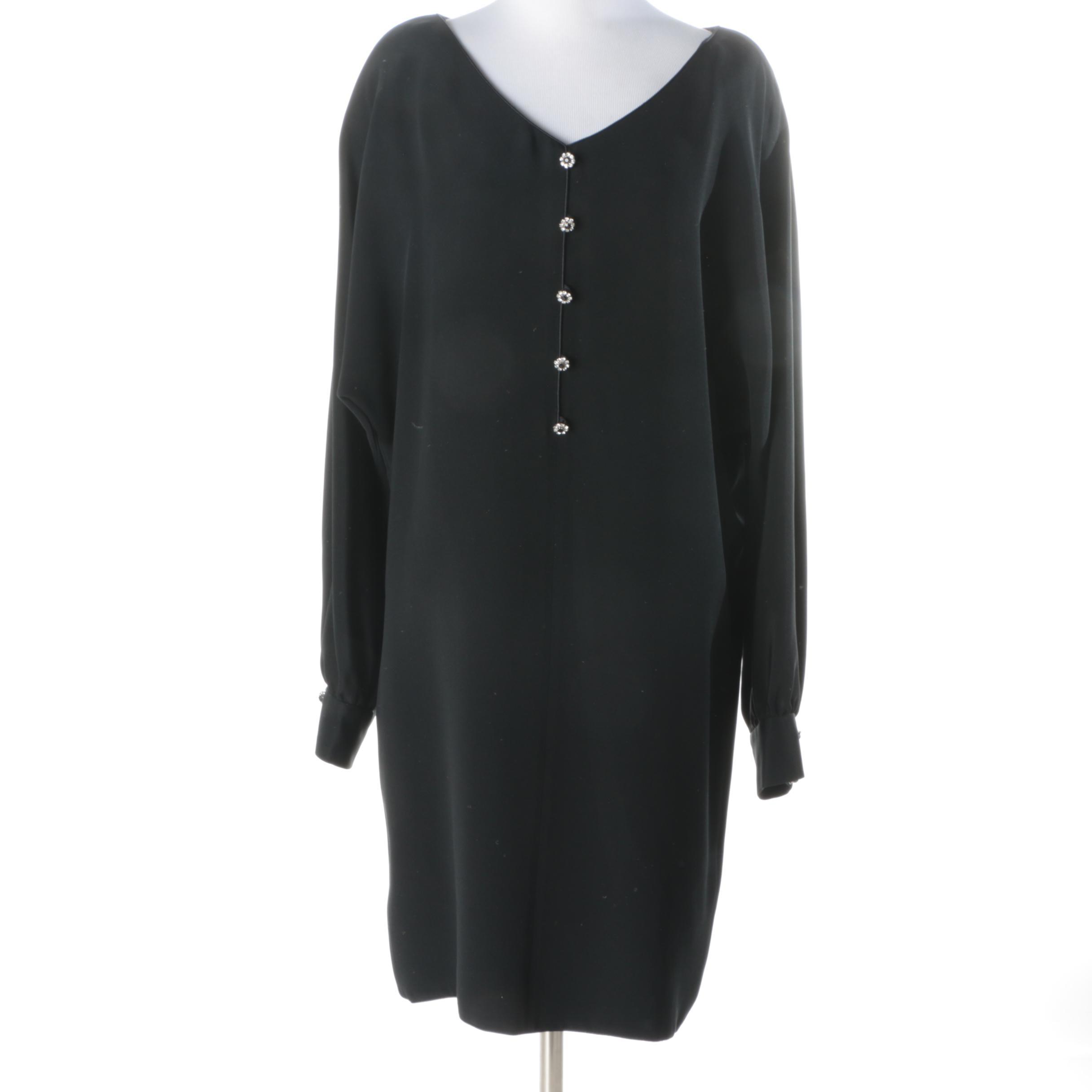 Mary McFadden Black Dress